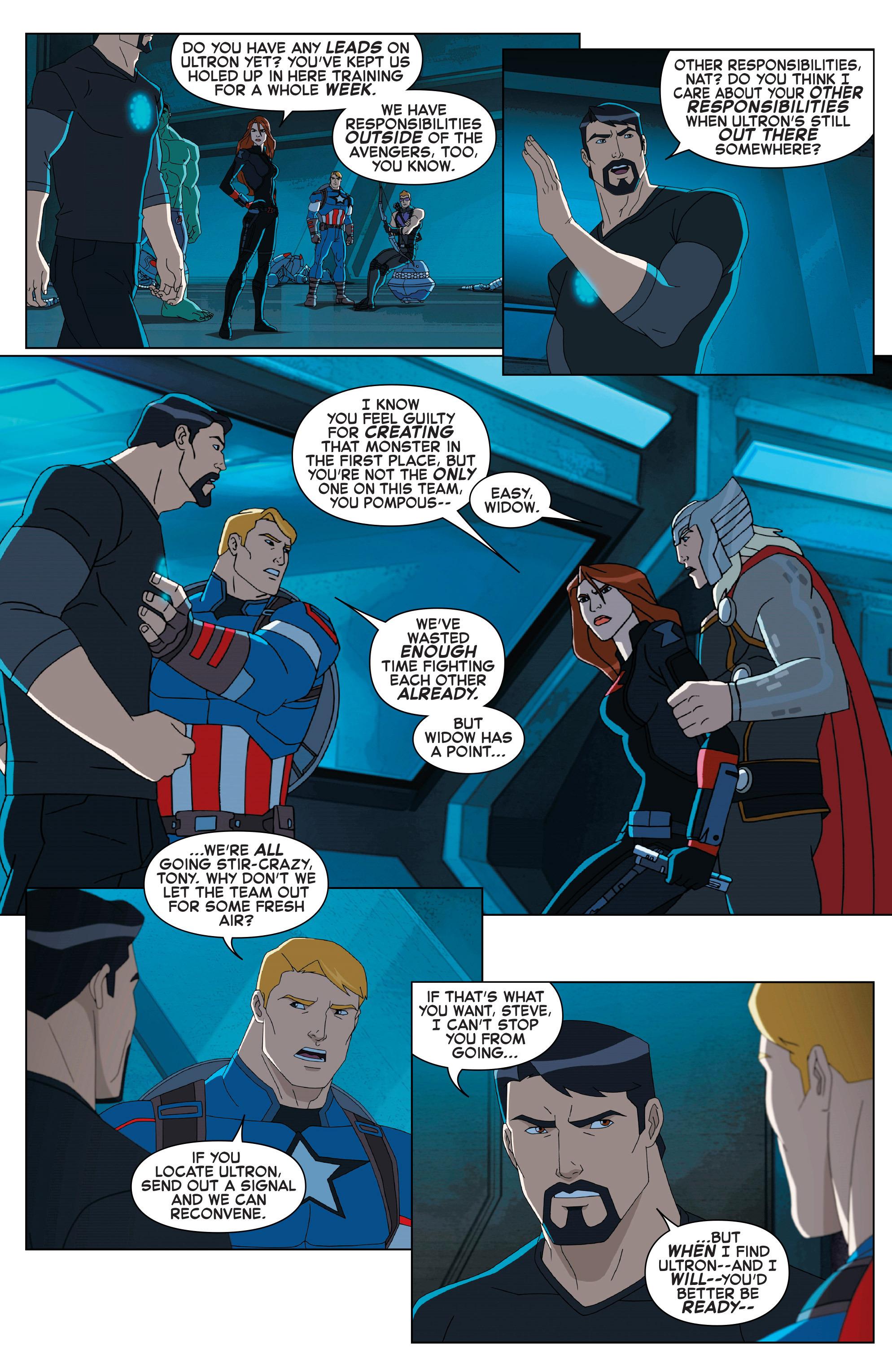 Read online Marvel Universe Avengers: Ultron Revolution comic -  Issue #2 - 6