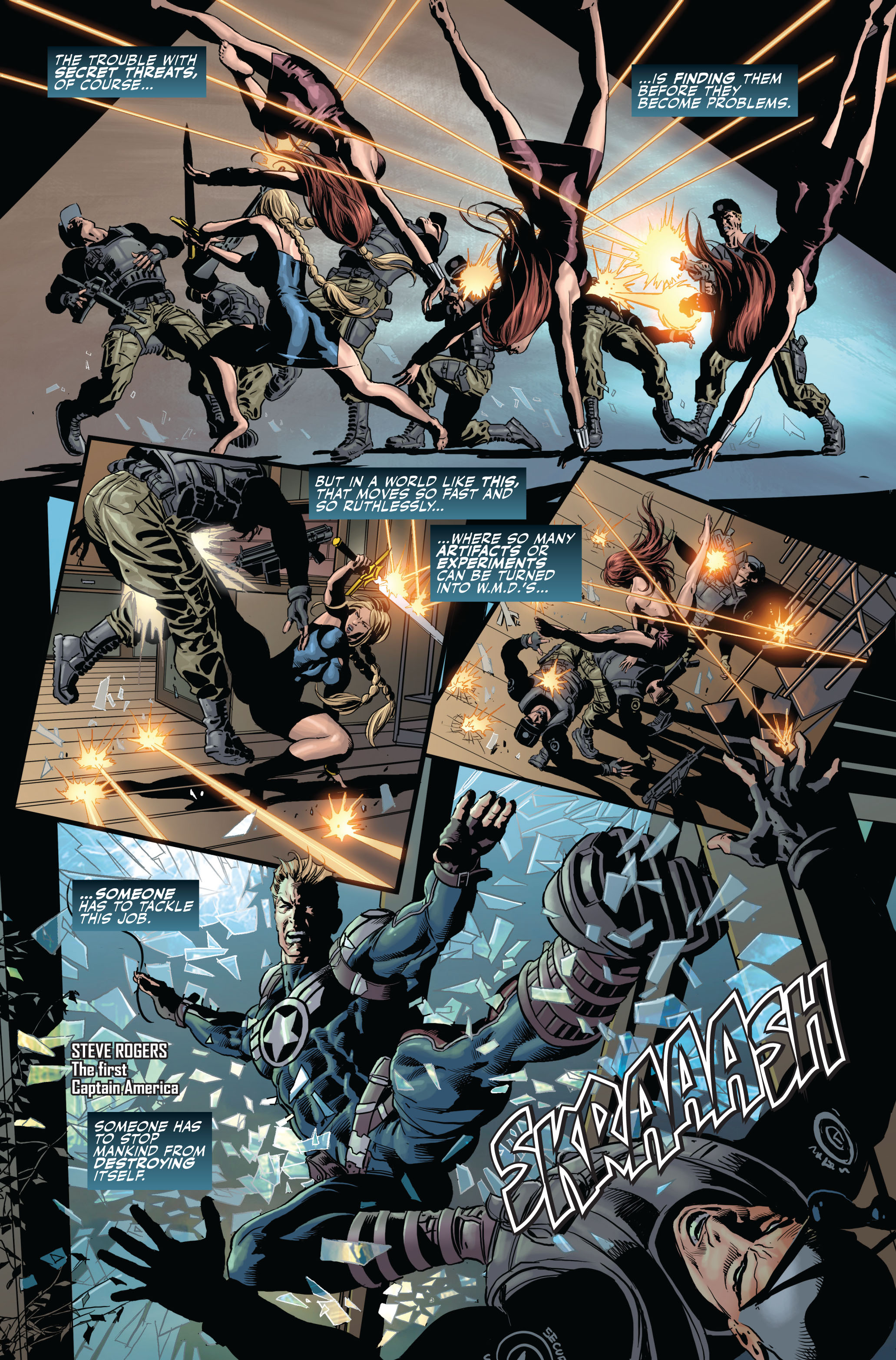 Read online Secret Avengers (2010) comic -  Issue #1 - 5