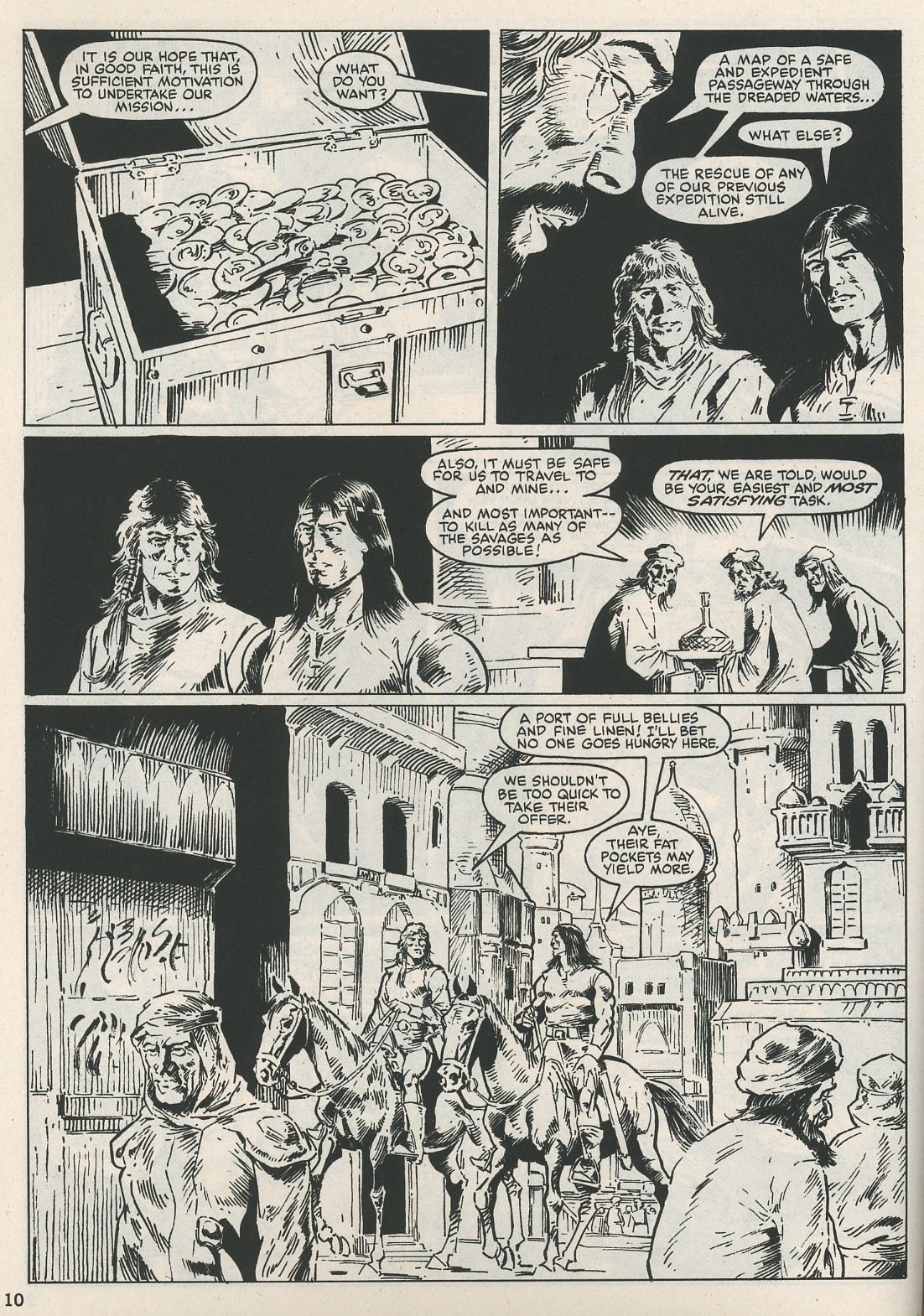The Savage Sword Of Conan Issue #115 #116 - English 10