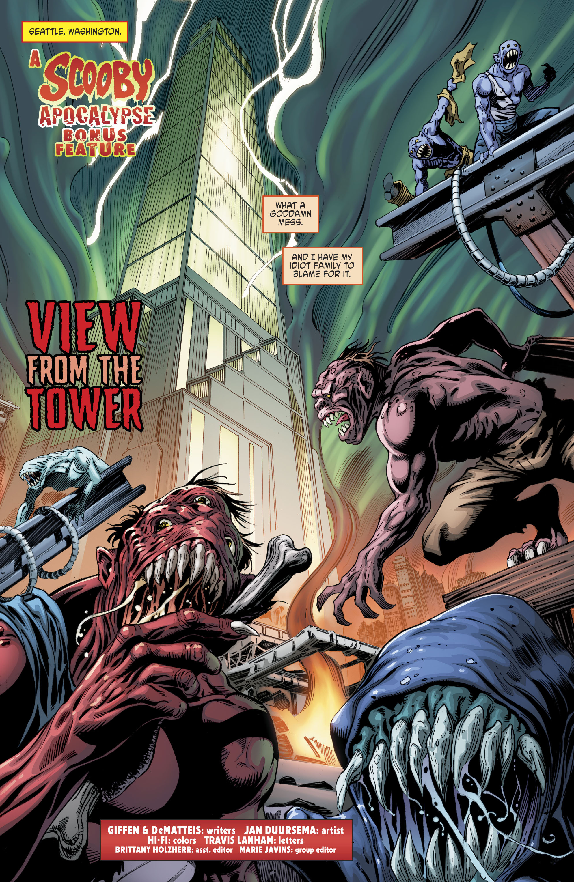Read online Scooby Apocalypse comic -  Issue #11 - 21