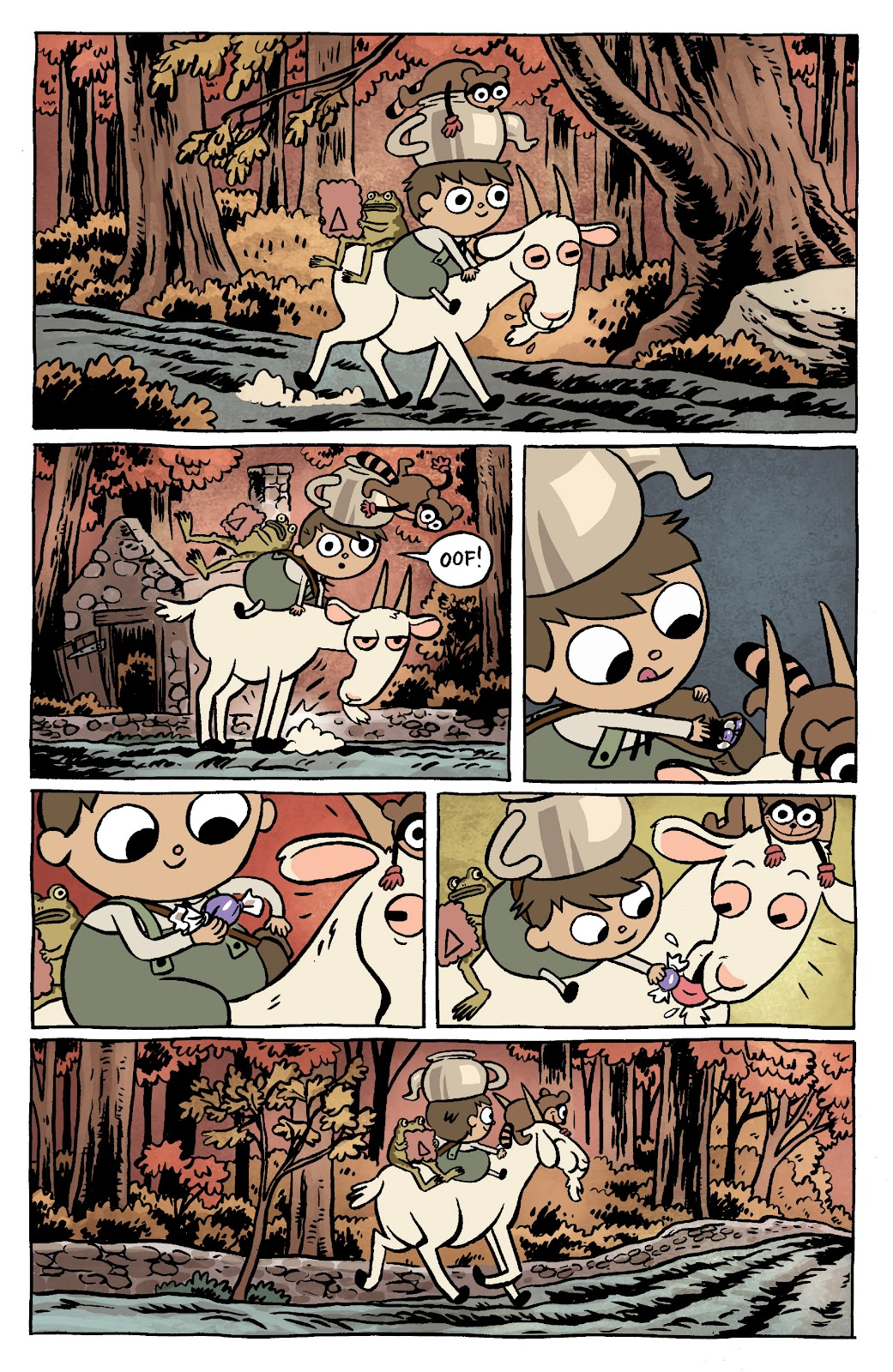 Over the Garden Wall (2016) Issue #11 #11 - English 3