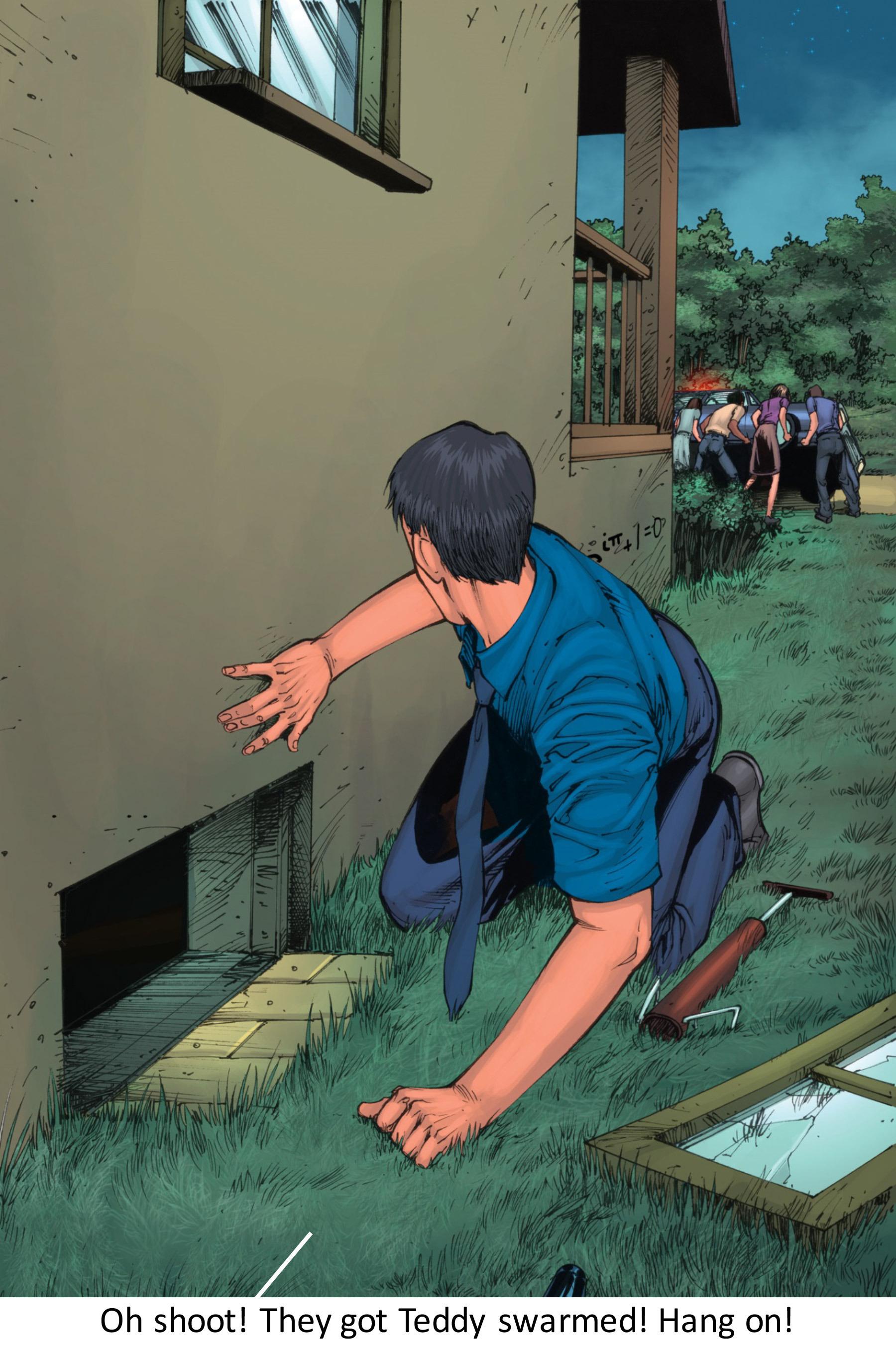 Read online Z-Men comic -  Issue #3 - 119