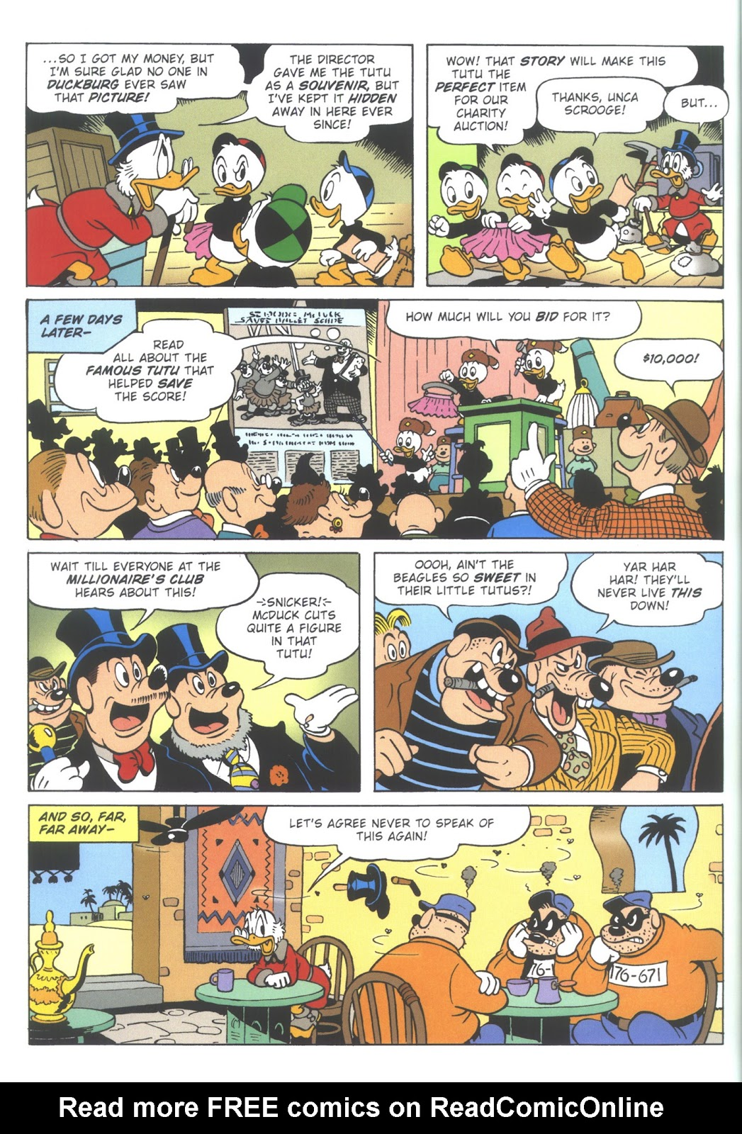 Uncle Scrooge (1953) Issue #353 #353 - English 64