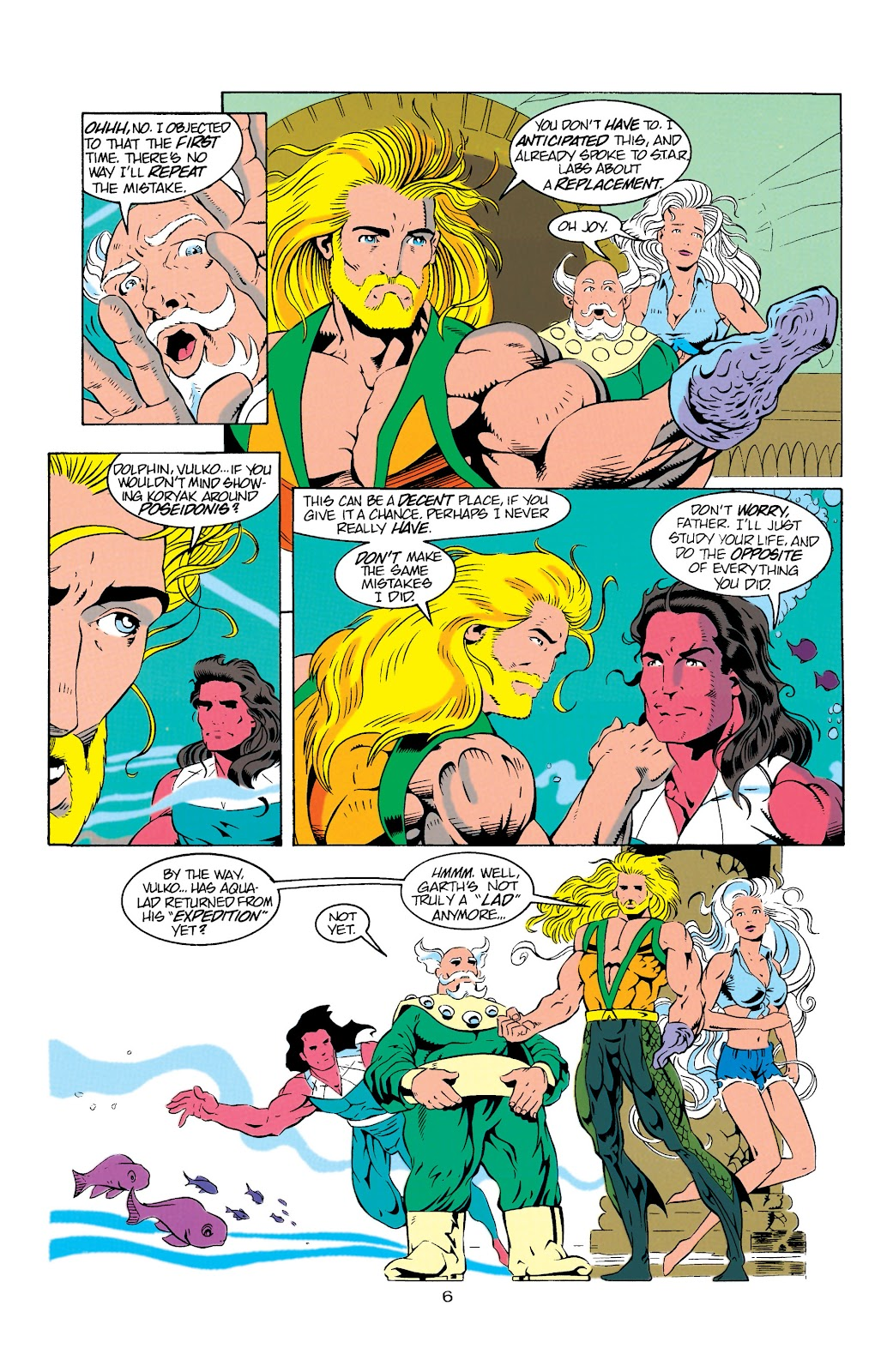 Aquaman (1994) Issue #9 #15 - English 7