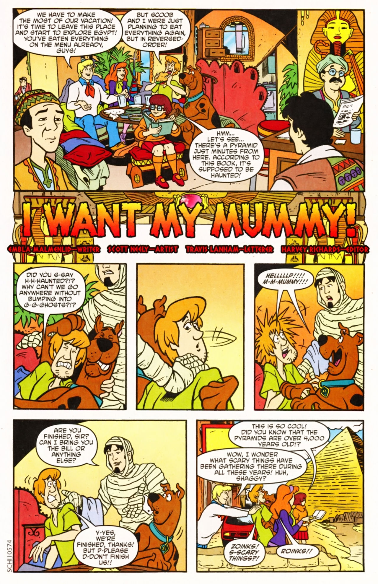 Read online Scooby-Doo (1997) comic -  Issue #154 - 14