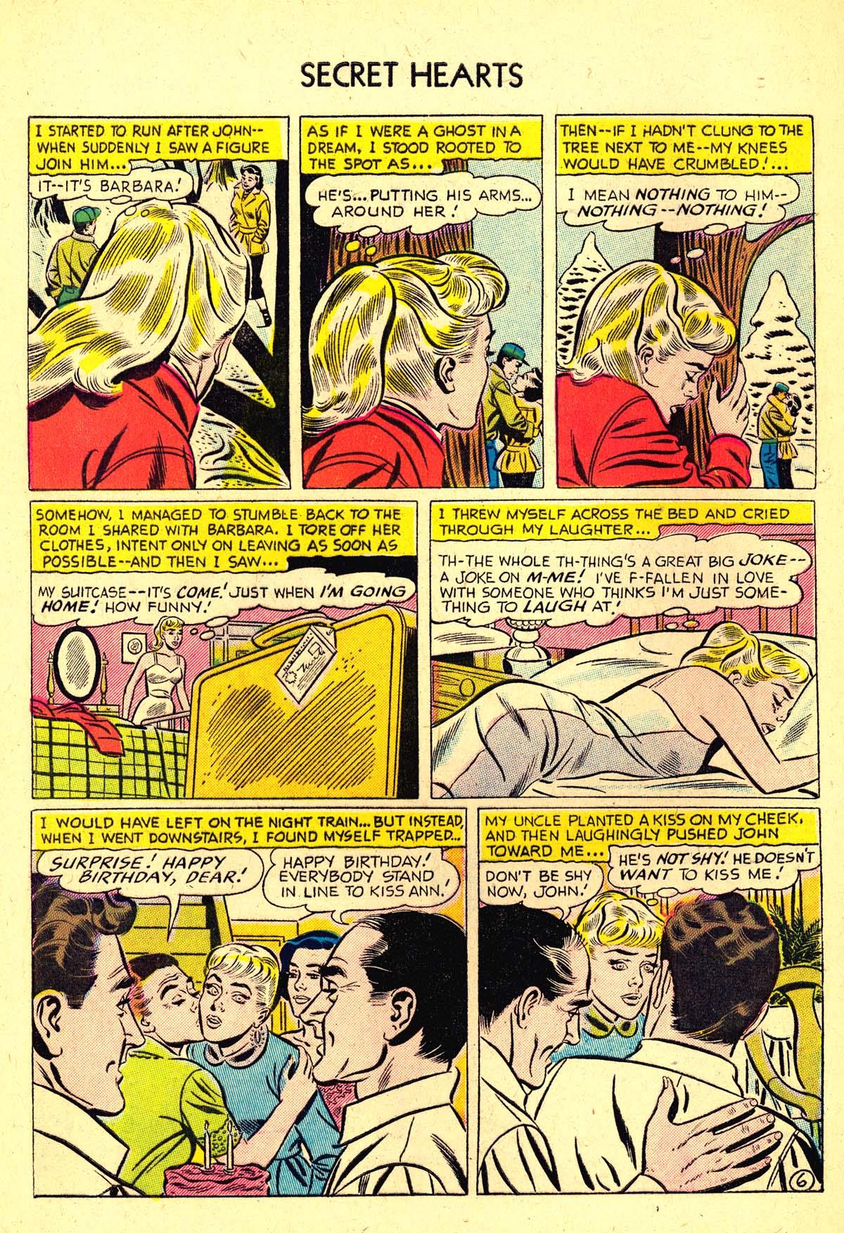 Read online Secret Hearts comic -  Issue #37 - 32