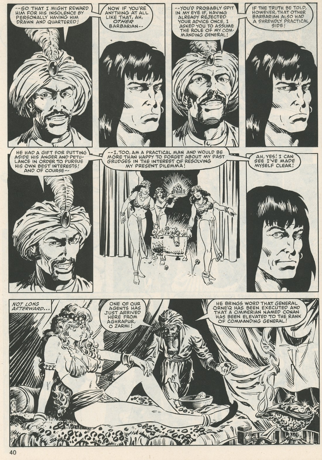 The Savage Sword Of Conan Issue #112 #113 - English 41