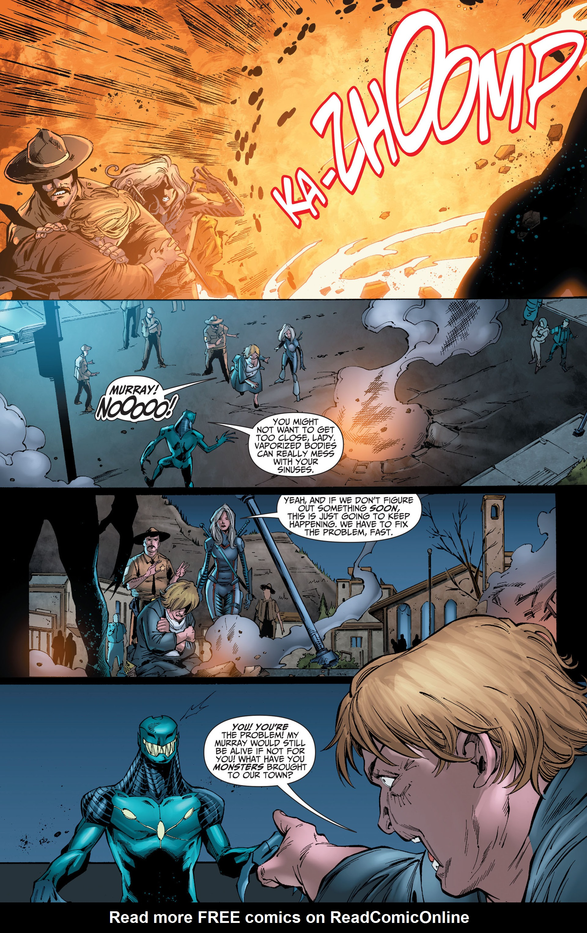 Read online The Ravagers comic -  Issue #8 - 13
