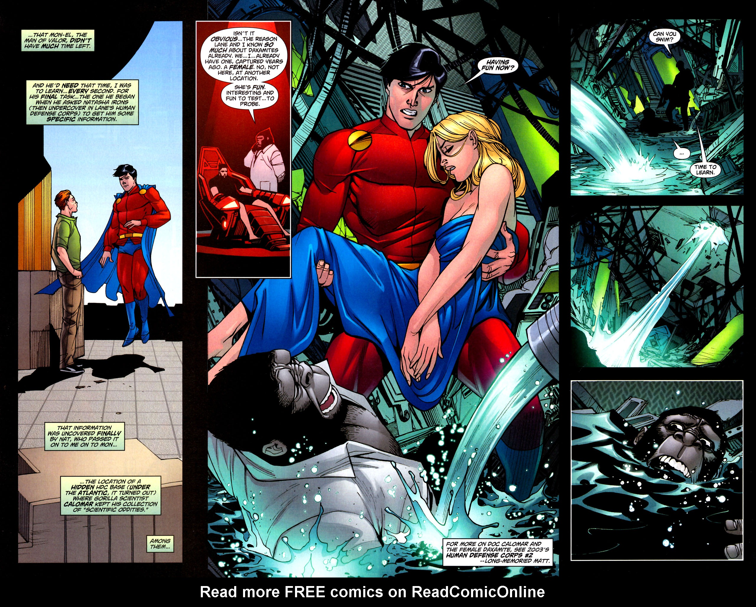 Read online Adventure Comics (2009) comic -  Issue #11 - 20