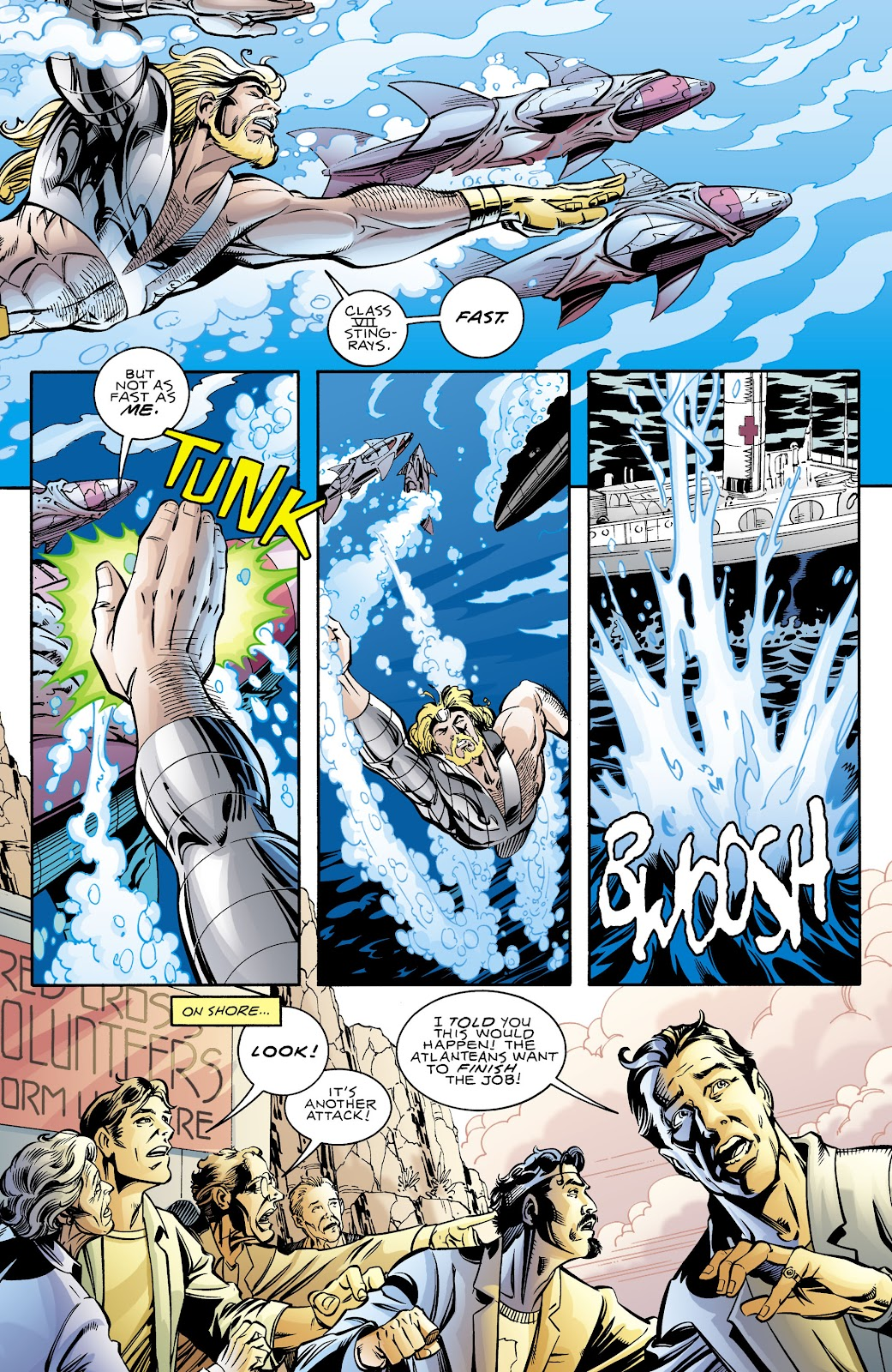 Aquaman (1994) Issue #70 #76 - English 17
