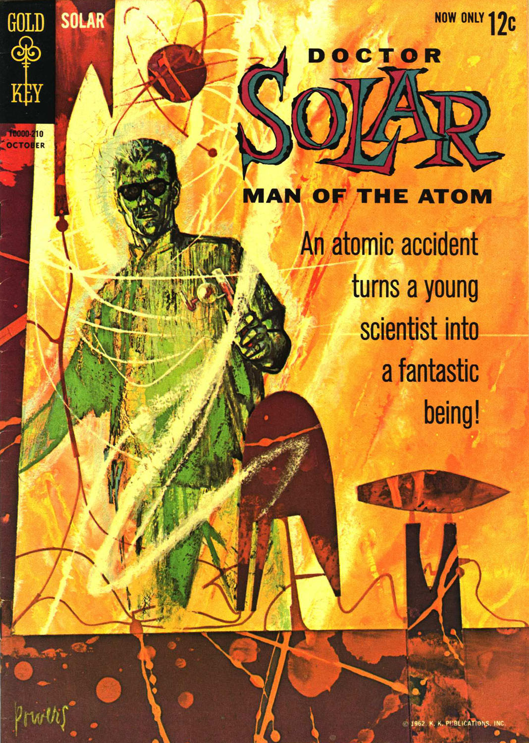 Doctor Solar, Man of the Atom (1962) 1 Page 1