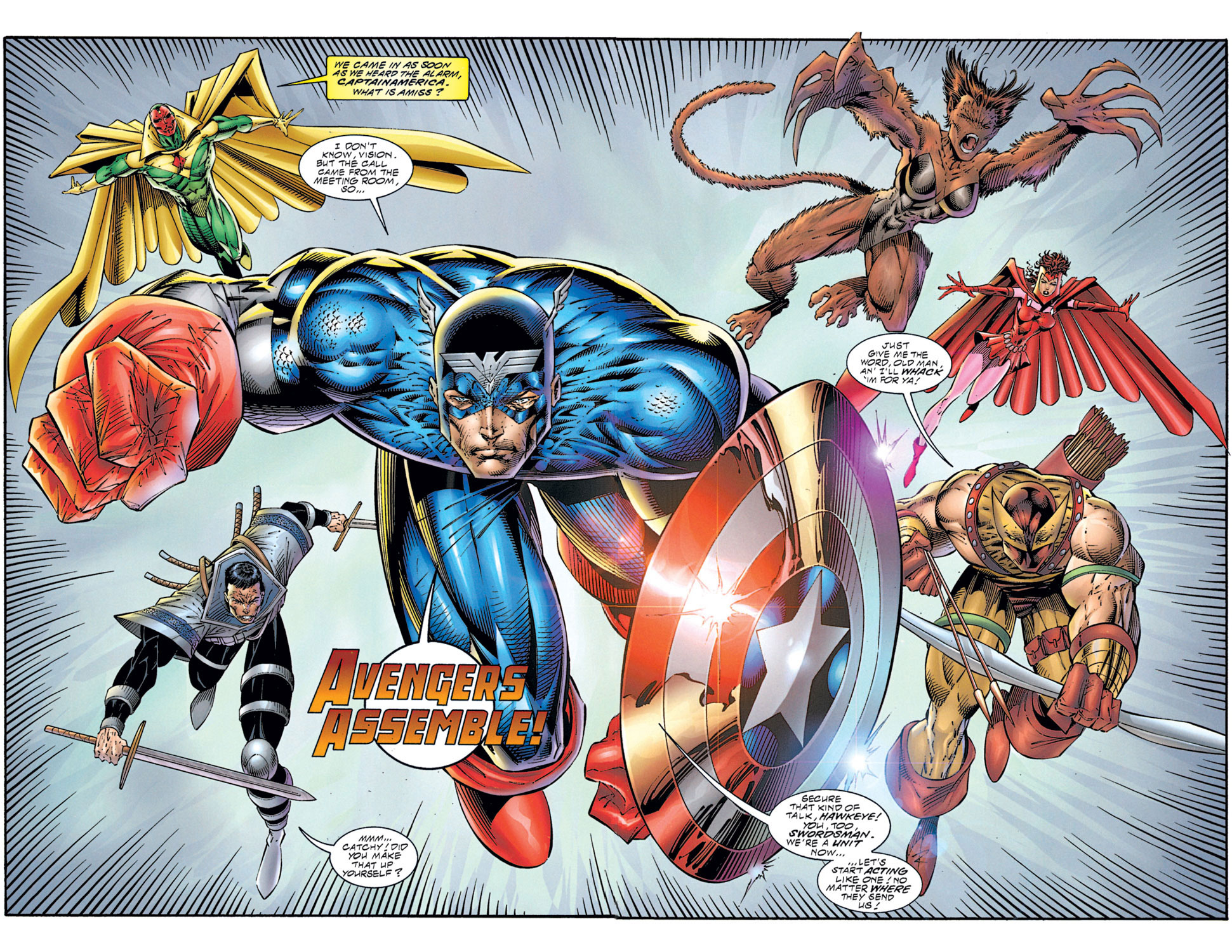 Read online Avengers (1996) comic -  Issue #1 - 18