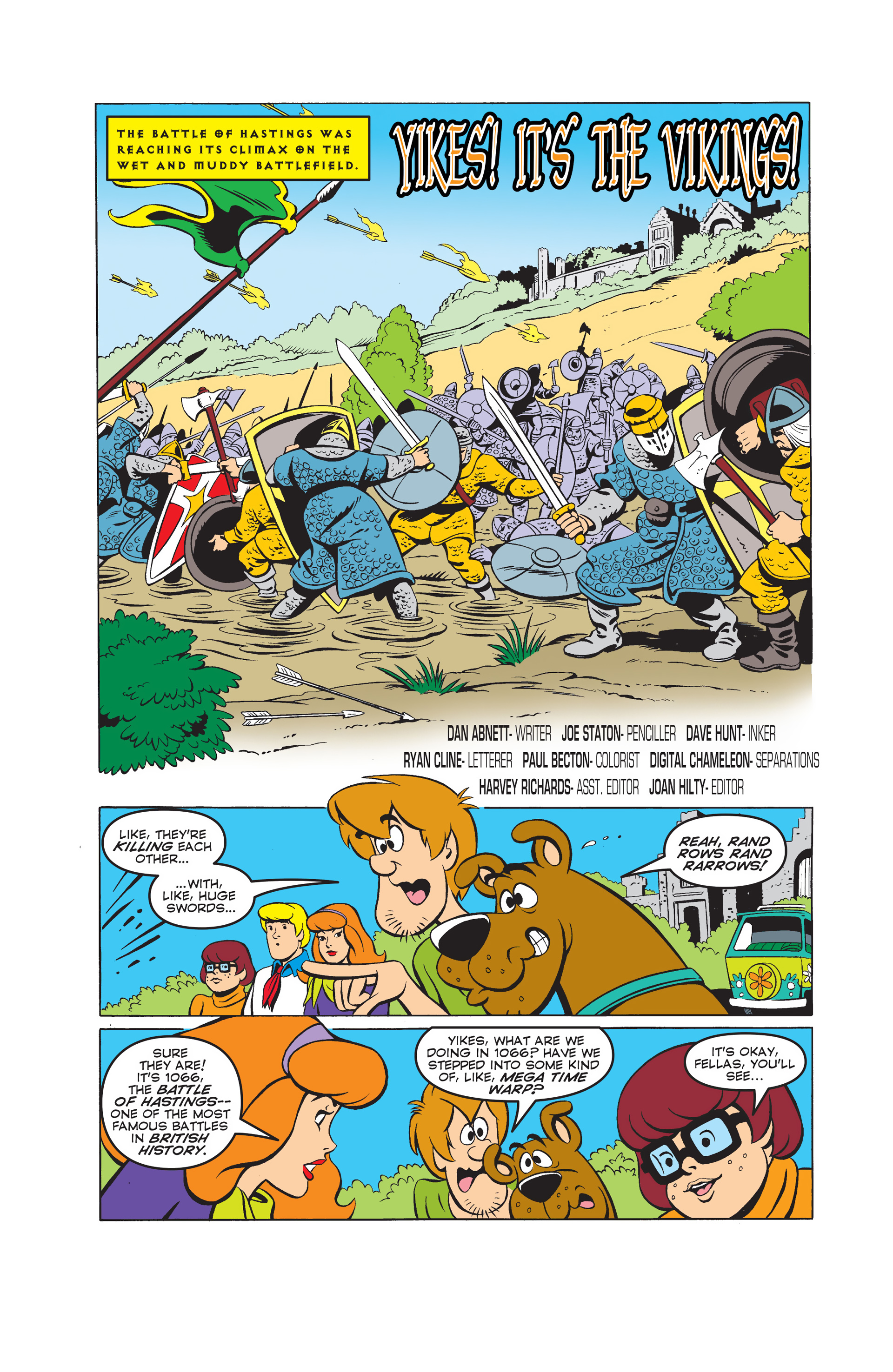 Read online Scooby-Doo (1997) comic -  Issue #48 - 2