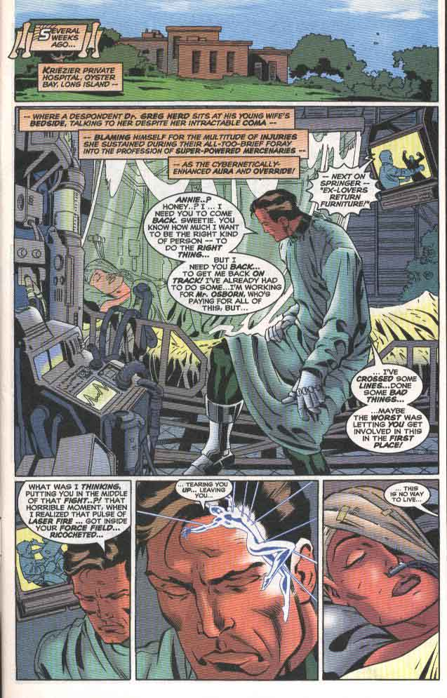Read online The Sensational Spider-Man (1996) comic -  Issue #33 - 2