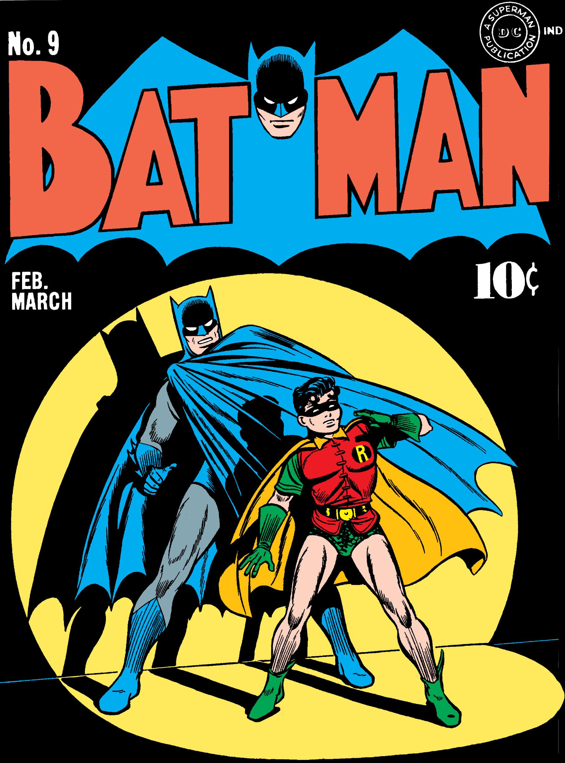 Batman (1940) 9 Page 1