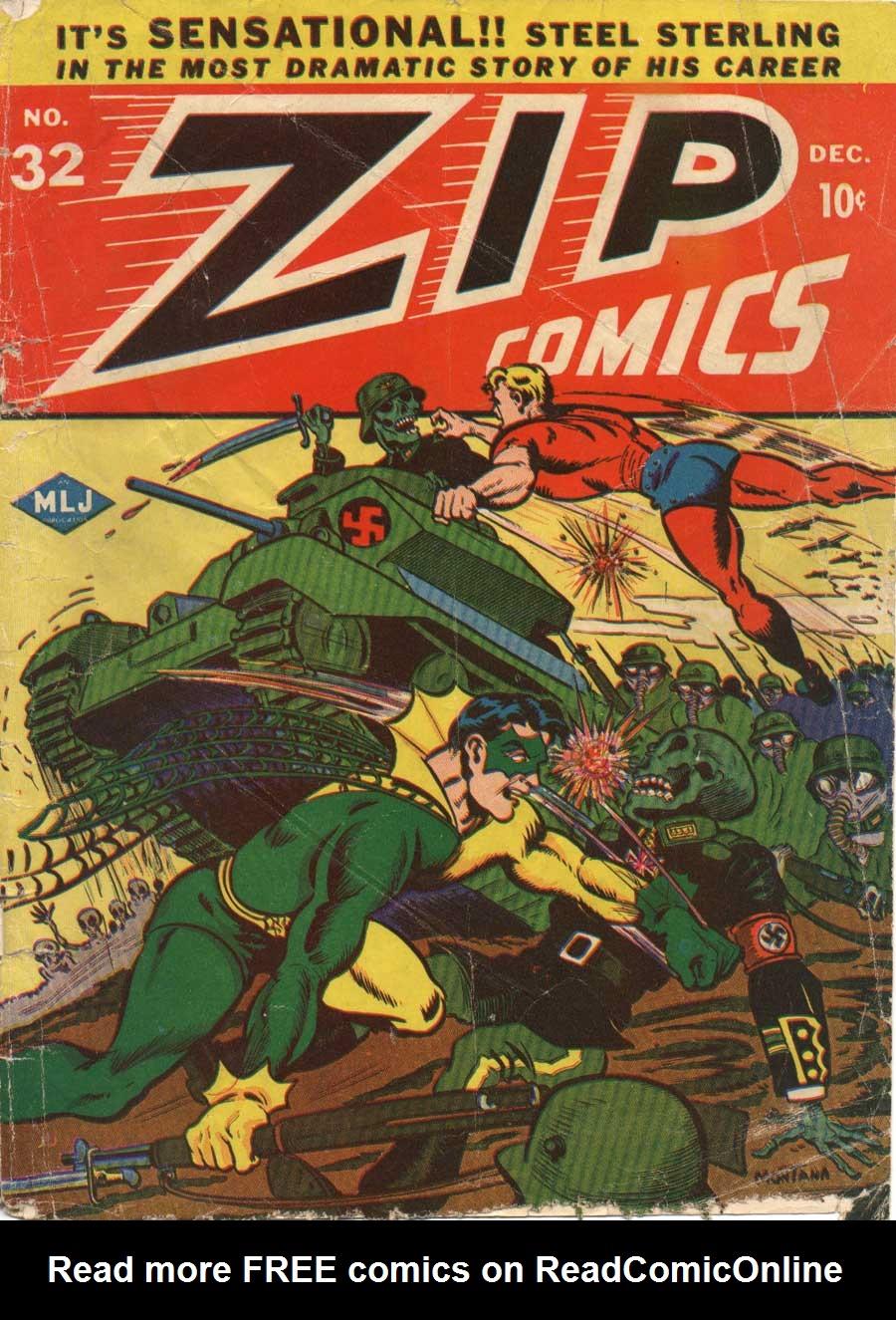 Zip Comics 32 Page 1