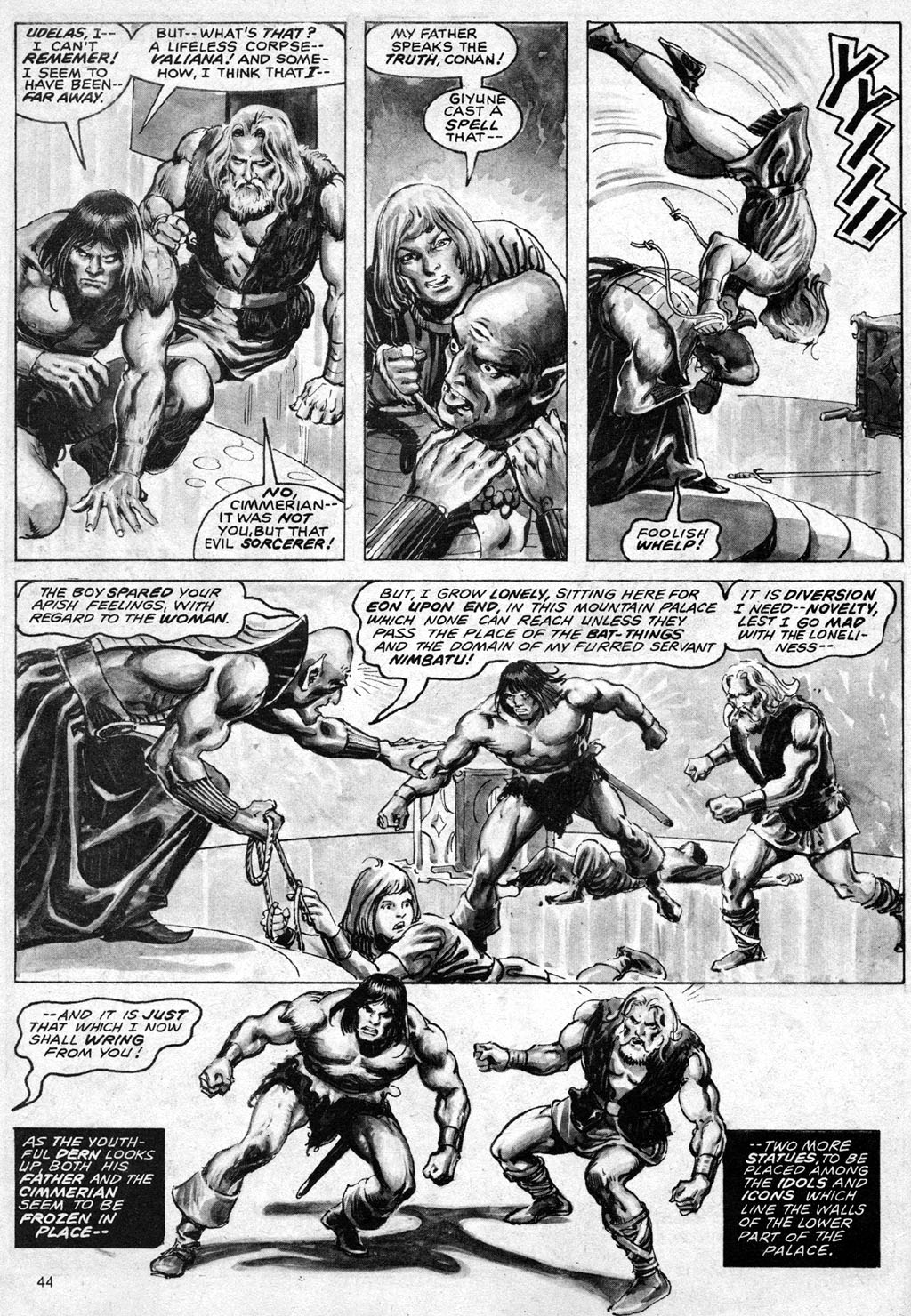 The Savage Sword Of Conan Issue #69 #70 - English 44