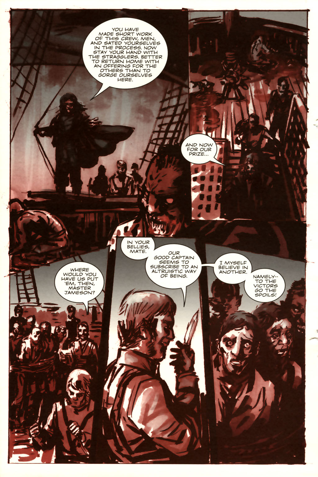 Read online Sea of Red comic -  Issue #9 - 17