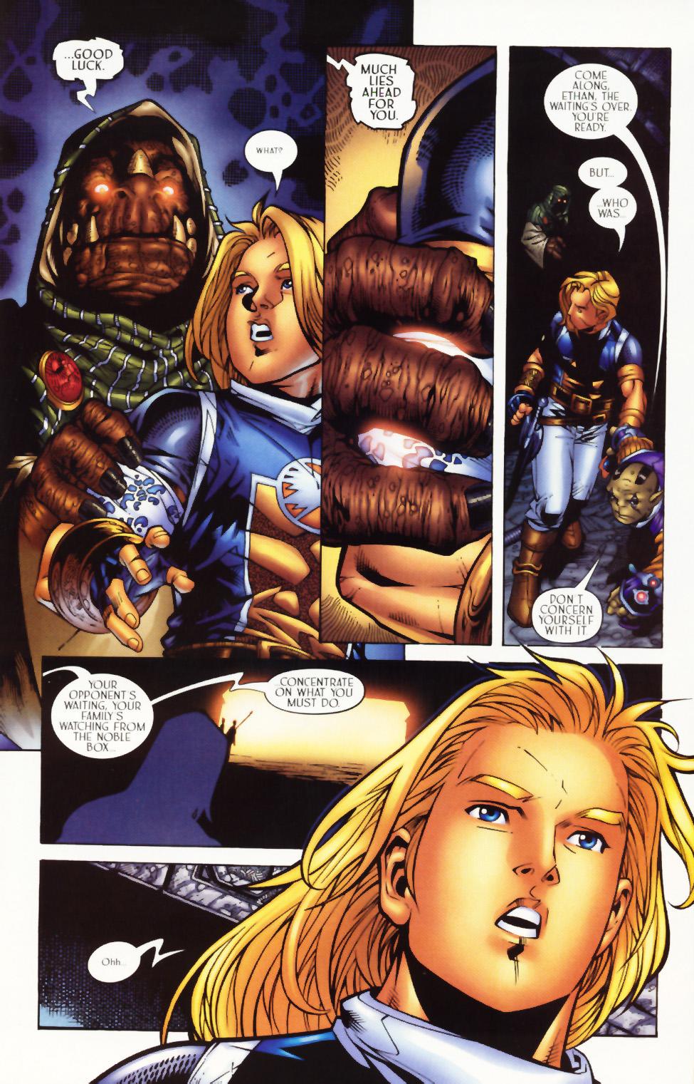 Read online Scion comic -  Issue #1 - 17