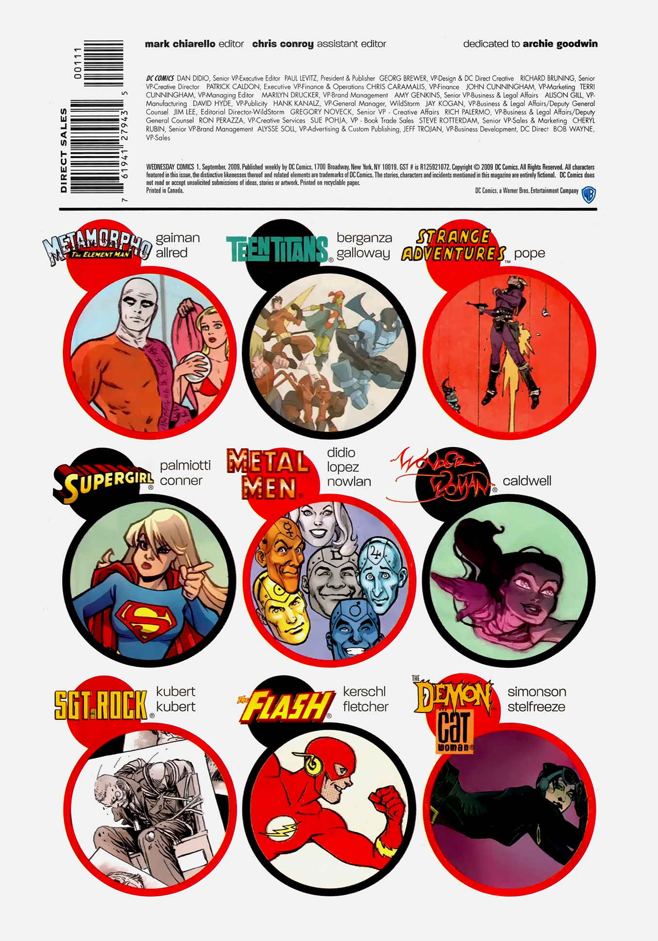 Read online Wednesday Comics comic -  Issue #1 - 19