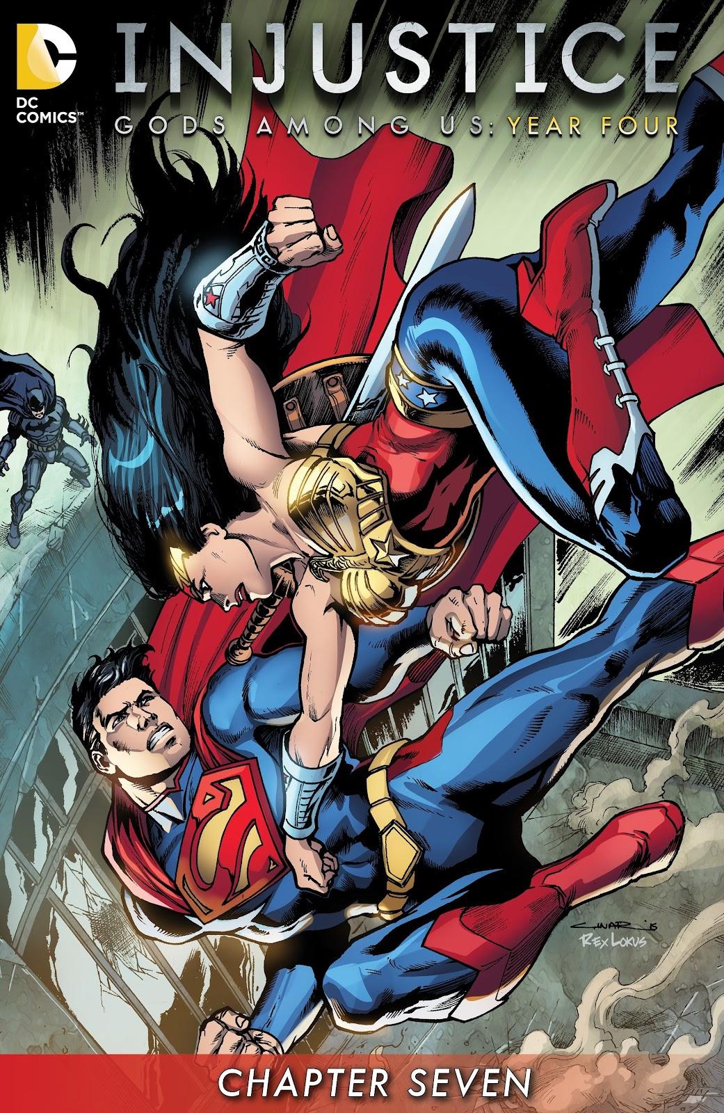 Injustice: Gods Among Us Year Four Issue #7 #8 - English 2