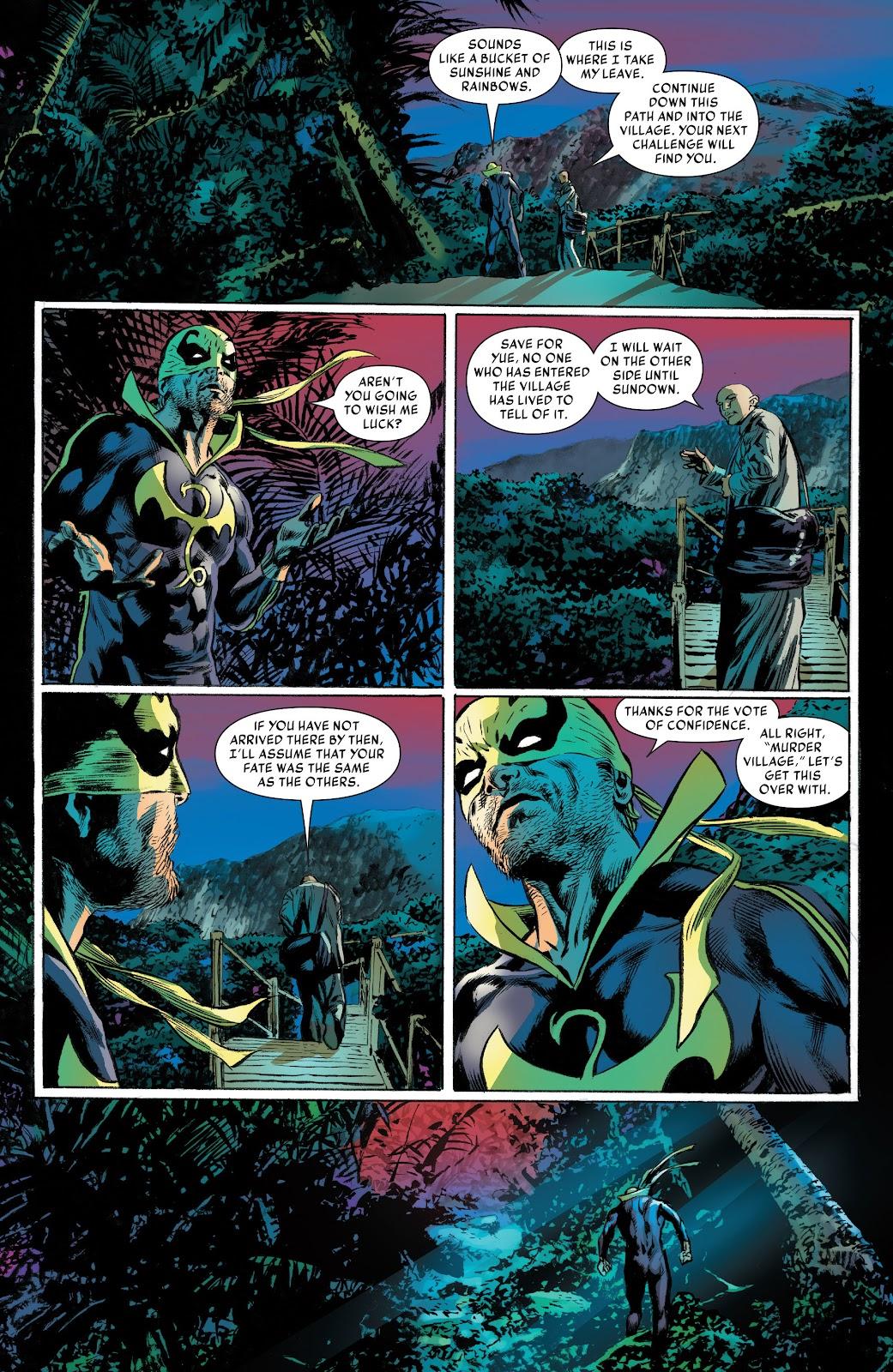 Iron Fist (2017) Issue #2 #2 - English 18