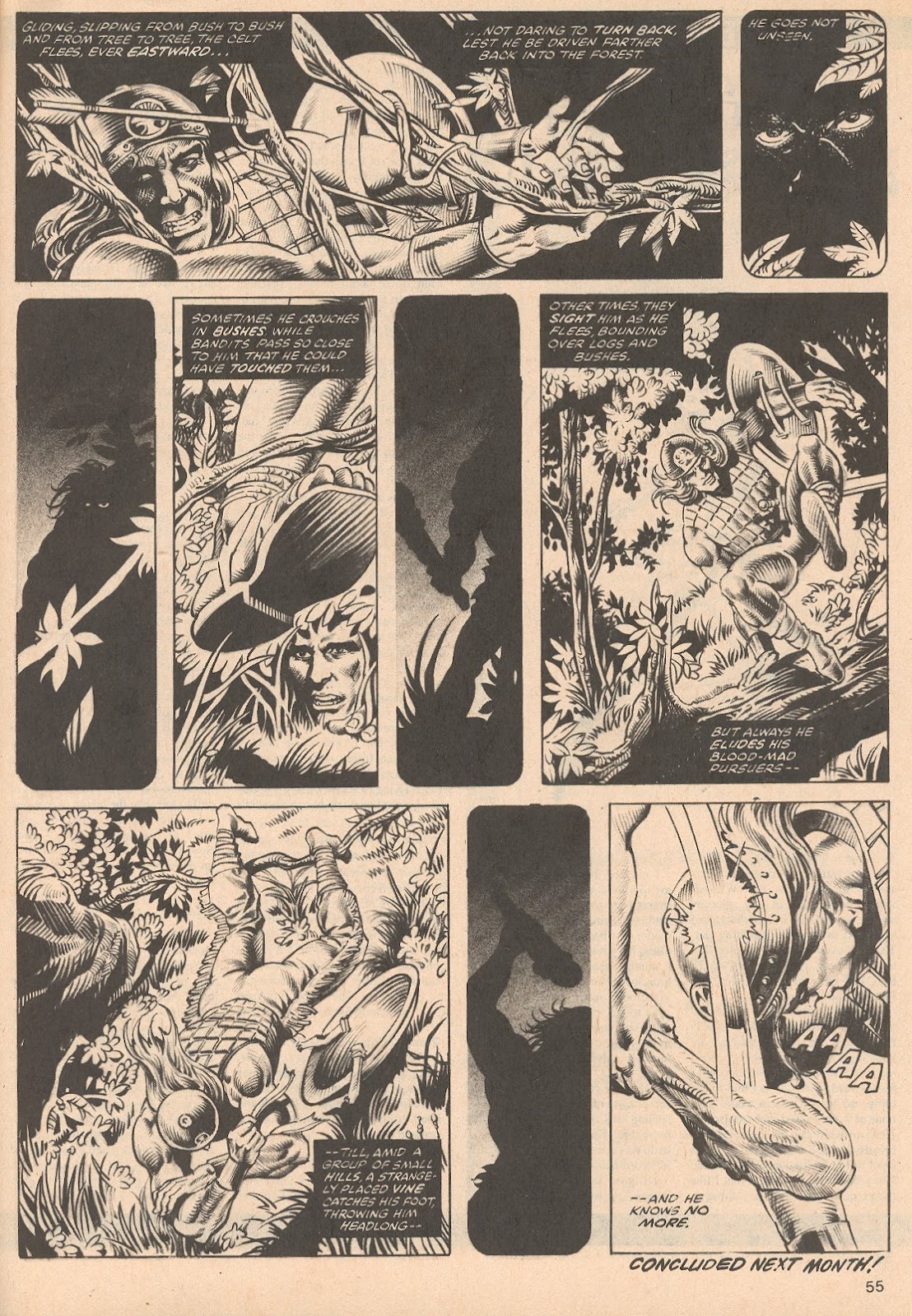 The Savage Sword Of Conan Issue #68 #69 - English 55