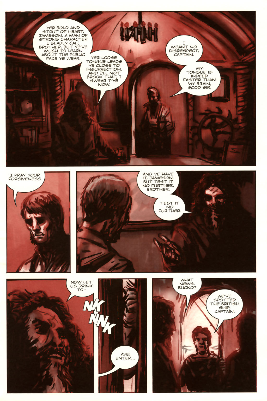 Read online Sea of Red comic -  Issue #9 - 12