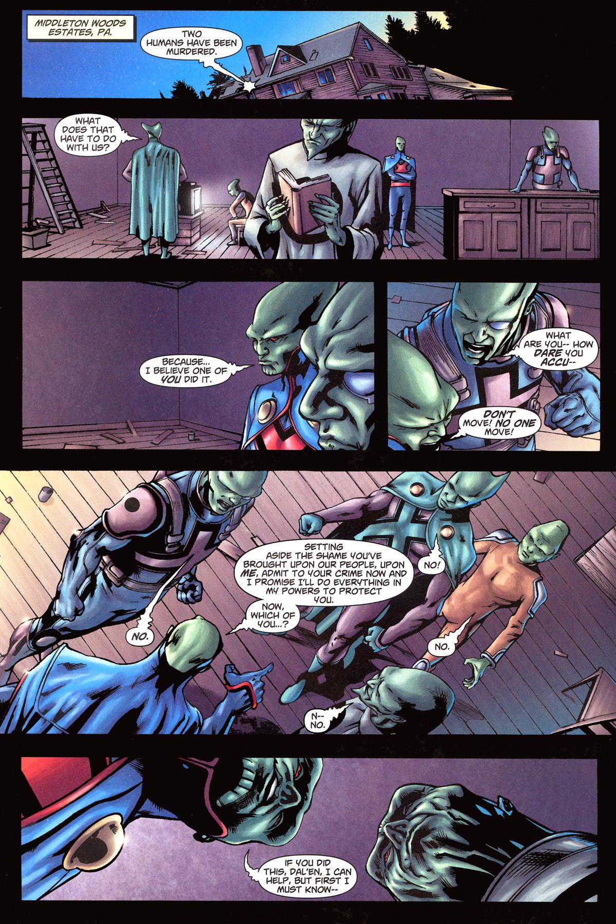 Read online Martian Manhunter (2006) comic -  Issue #6 - 3