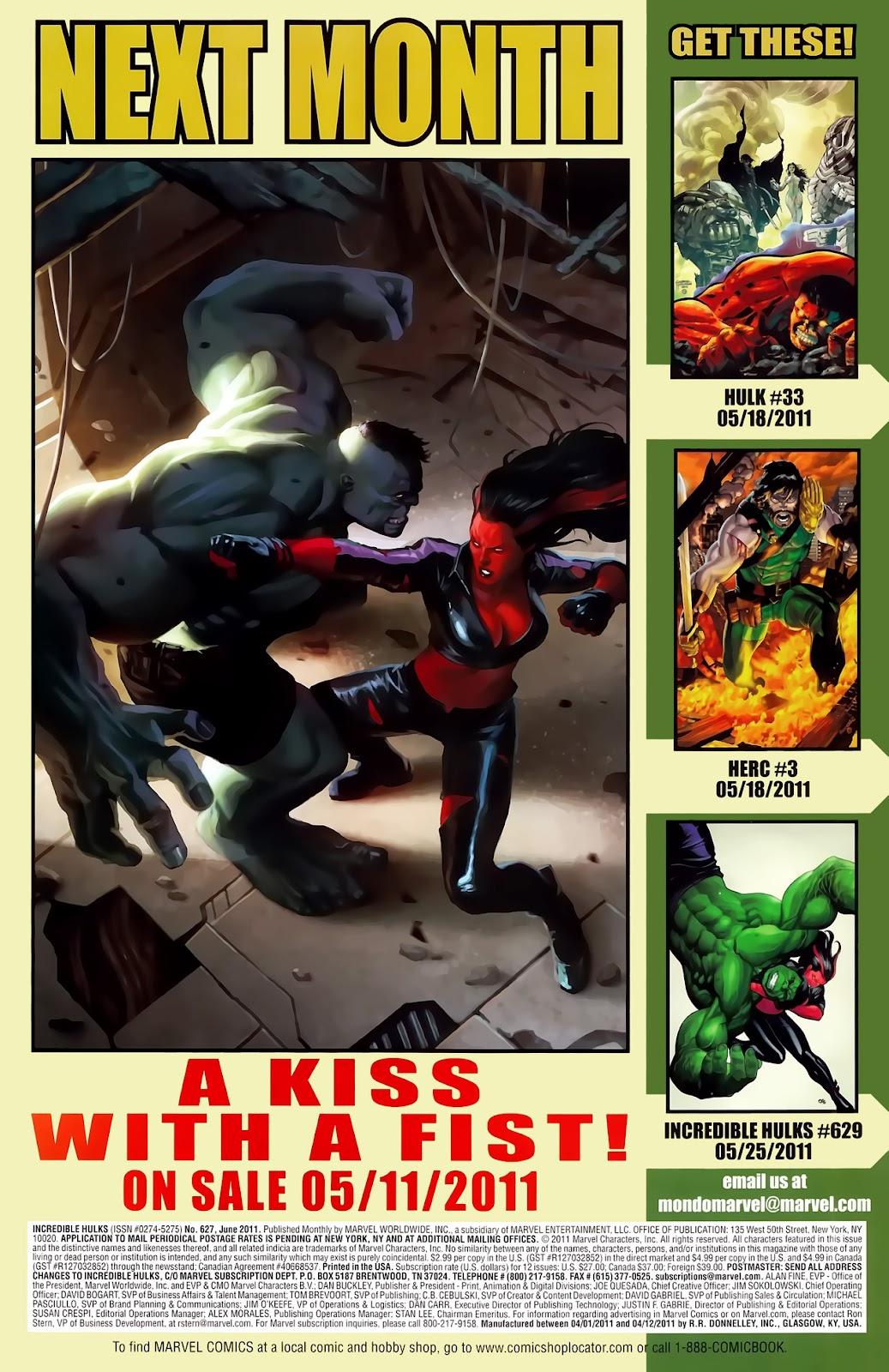 Incredible Hulks (2010) Issue #627 #17 - English 24