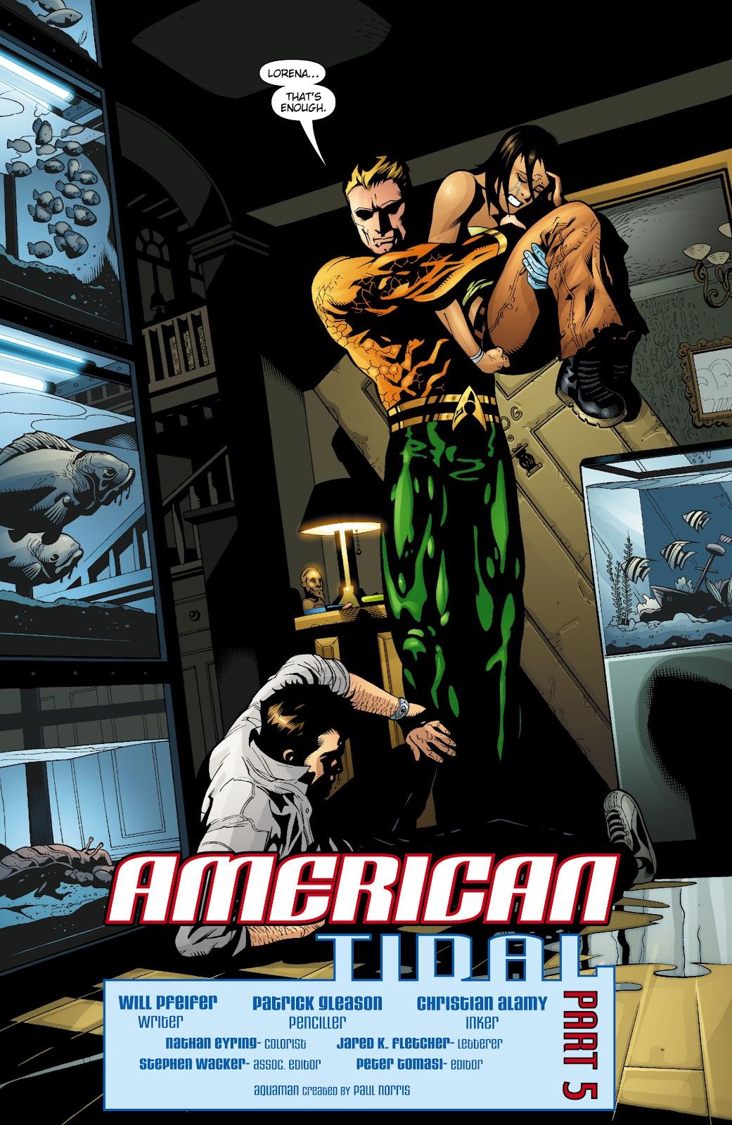 Aquaman (2003) Issue #19 #19 - English 3