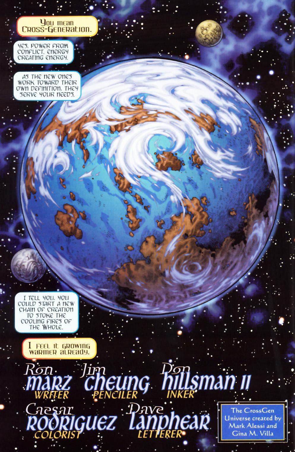 Read online Scion comic -  Issue #1 - 4