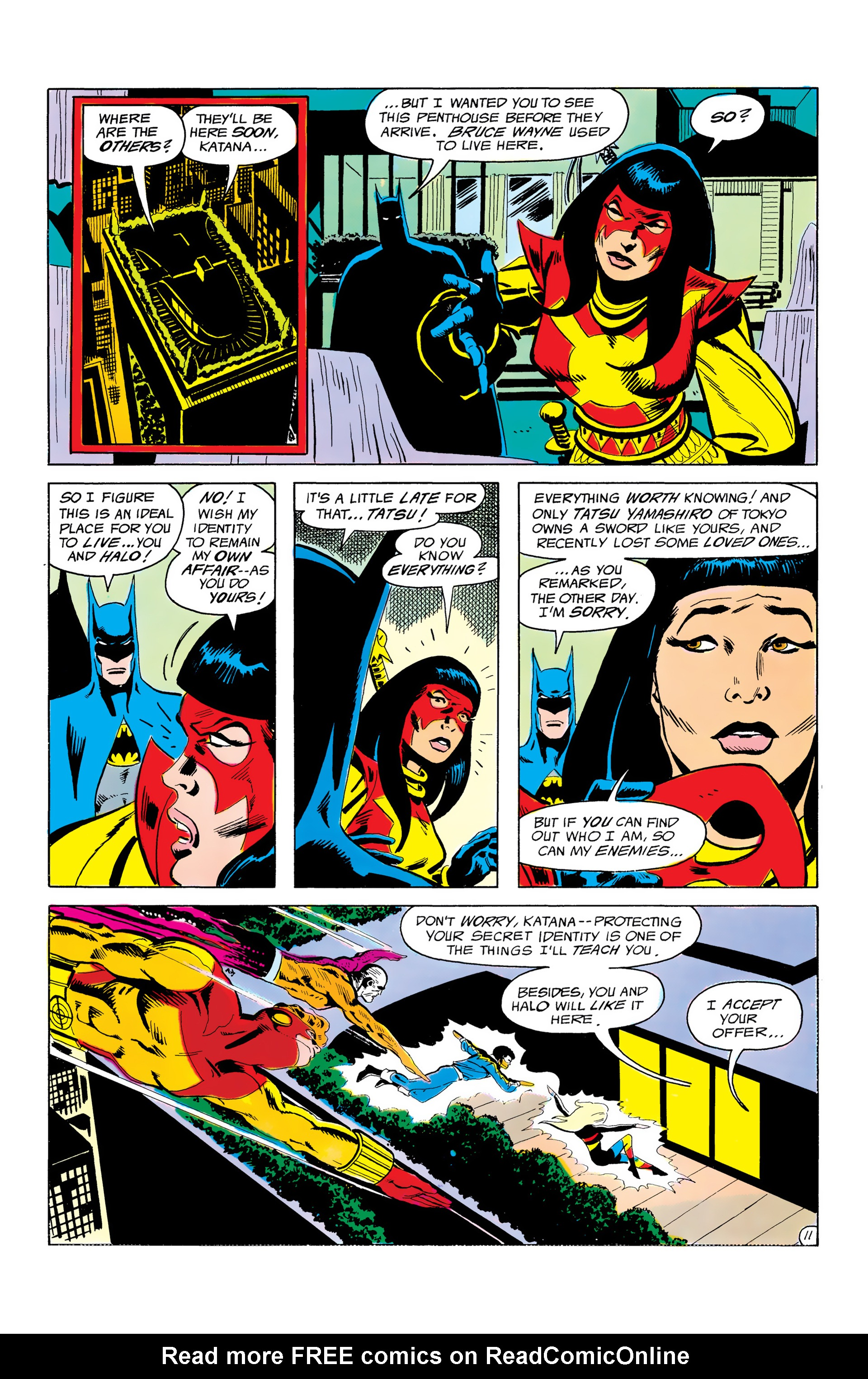 Batman and the Outsiders (1983) 3 Page 11