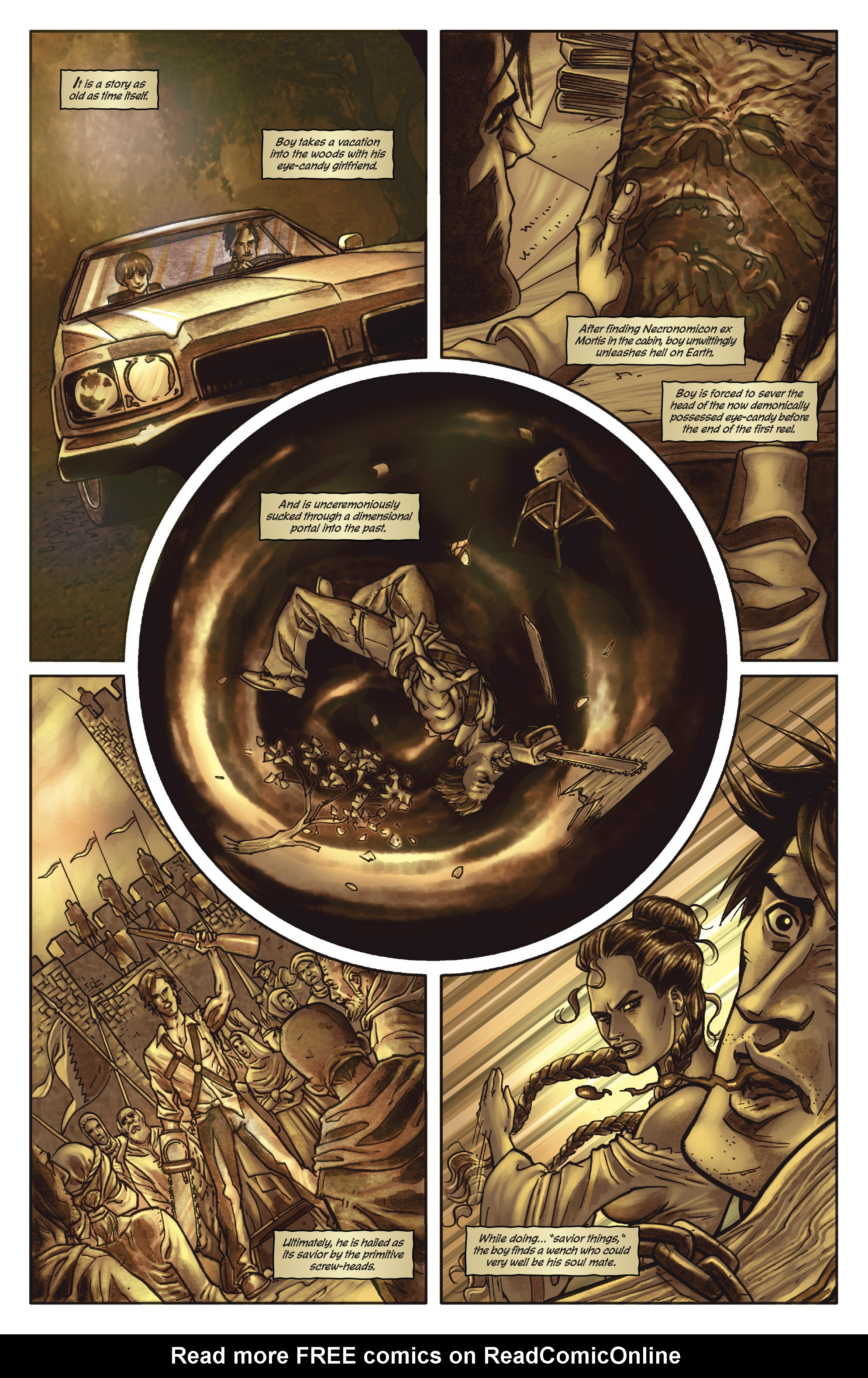 Army of Darkness: The Long Road Home TPB Page 7