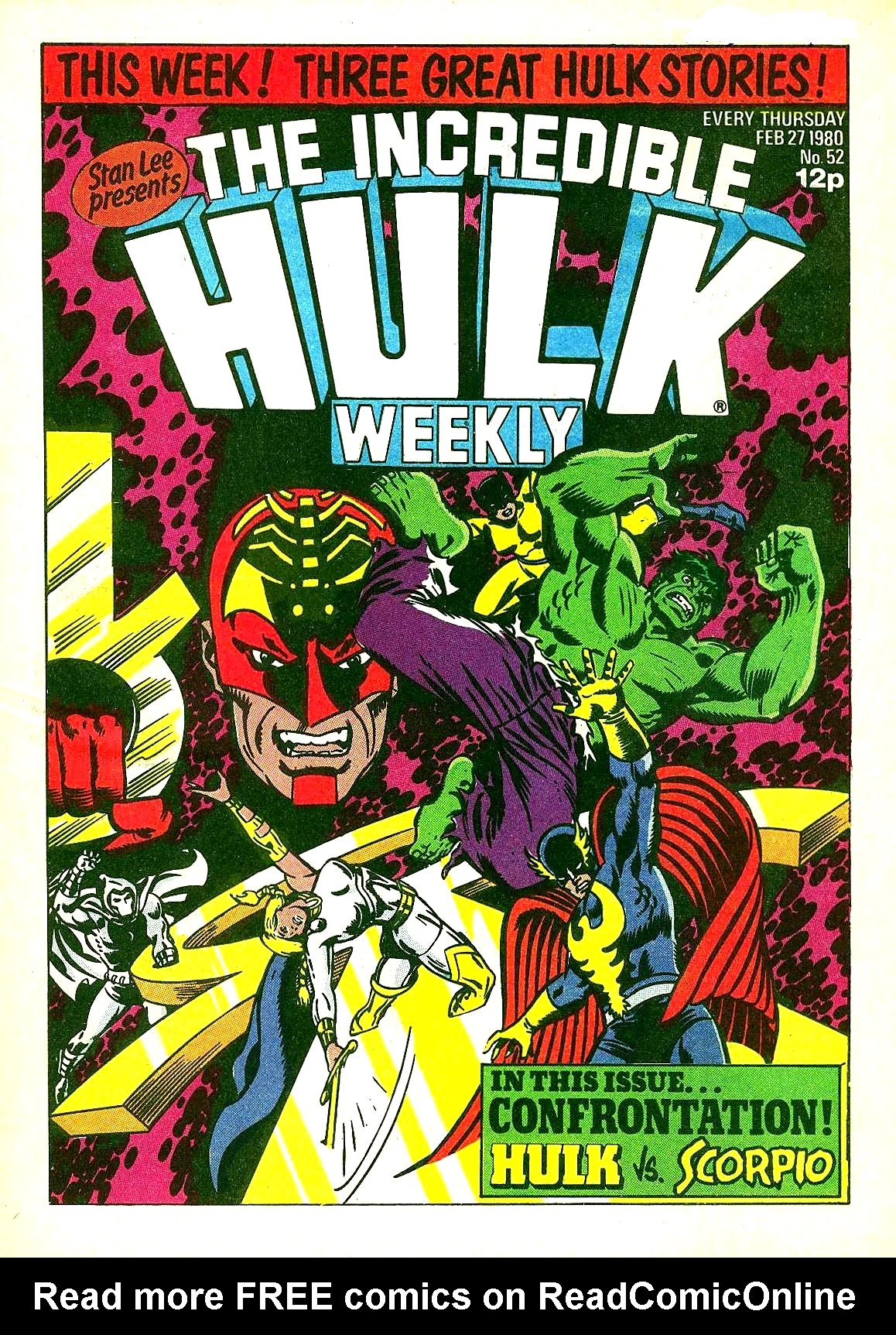 The Incredible Hulk Weekly 52 Page 1