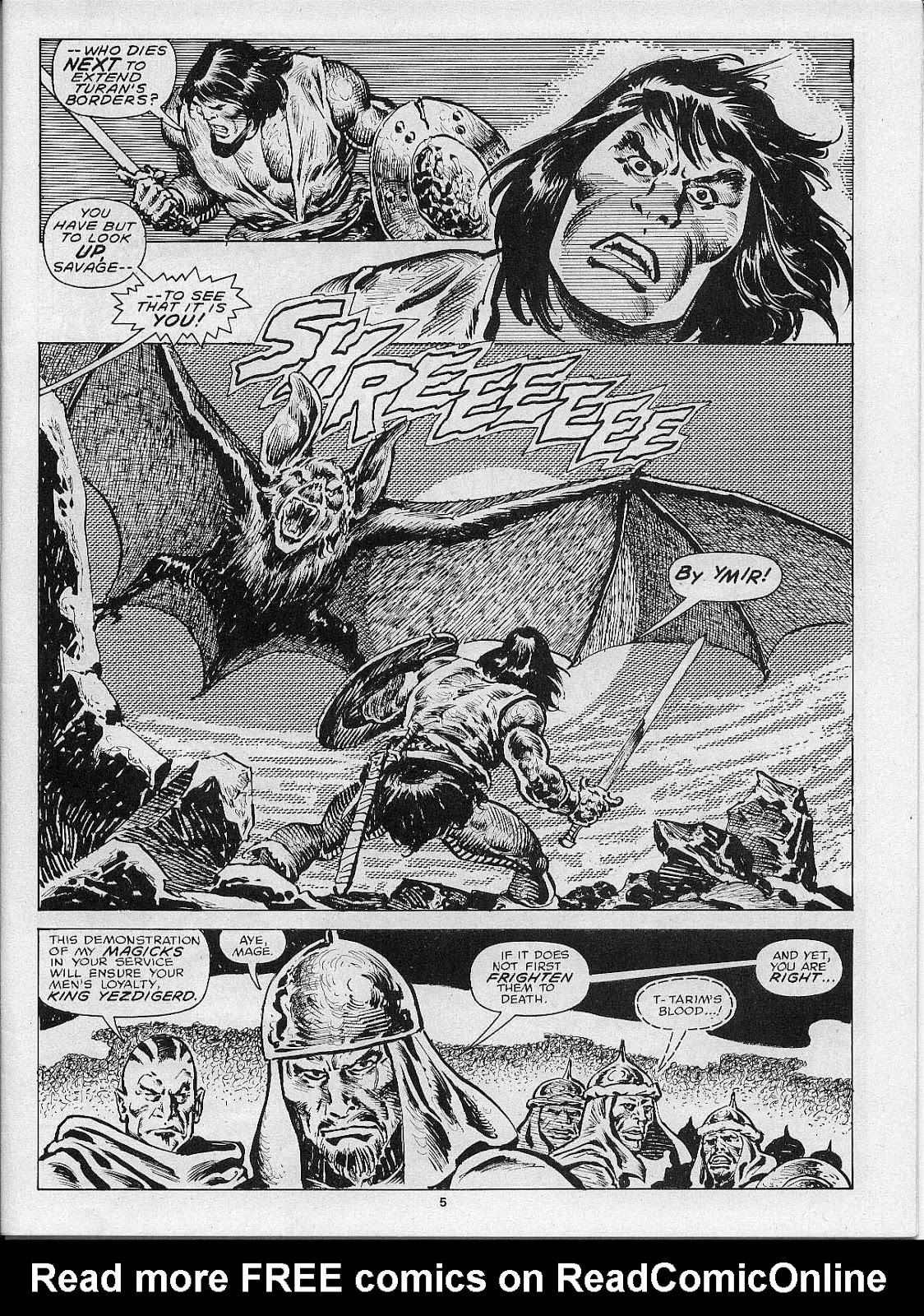 The Savage Sword Of Conan Issue #200 #201 - English 7