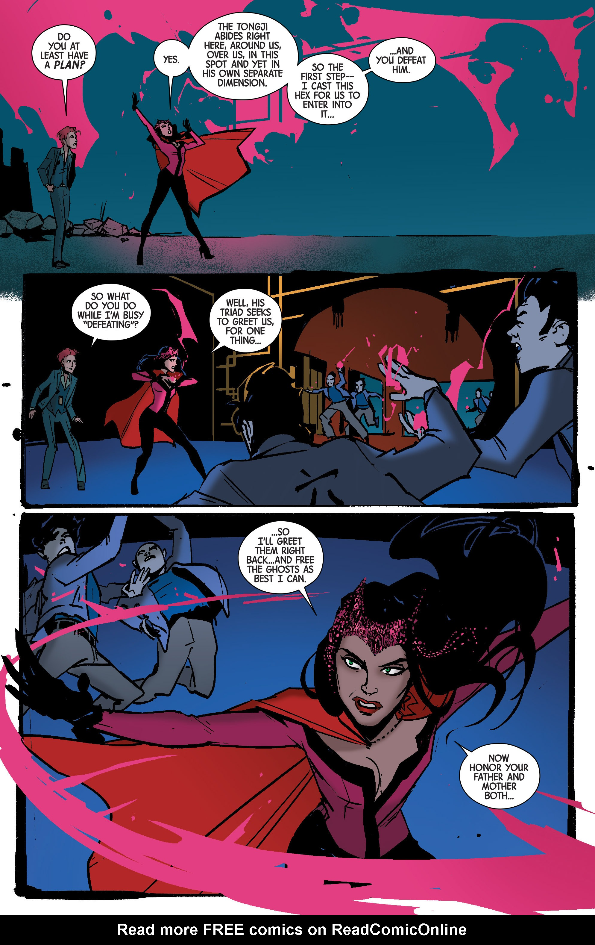 Read online Scarlet Witch (2016) comic -  Issue #7 - 17