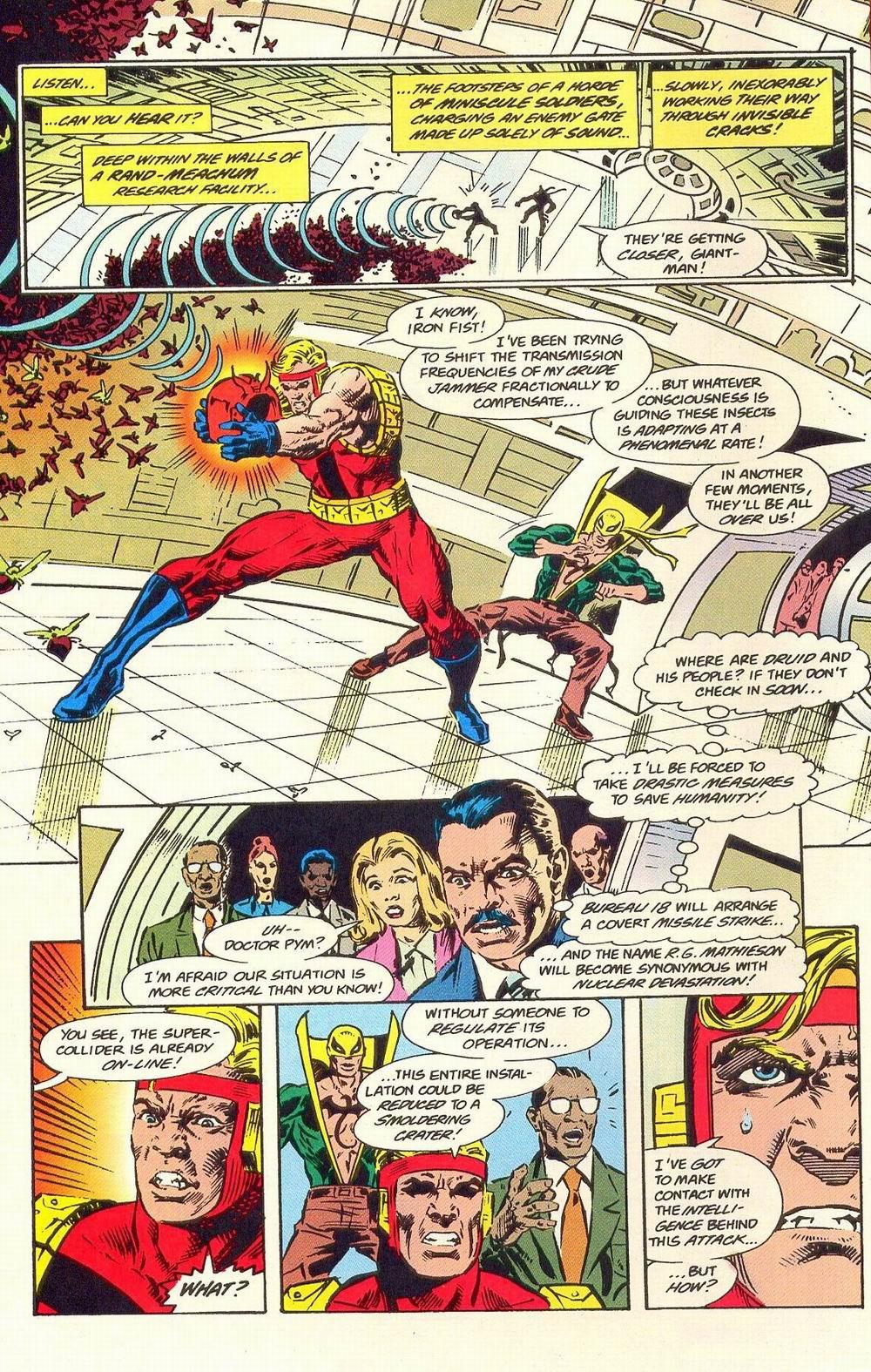 Read online Secret Defenders comic -  Issue #19 - 5