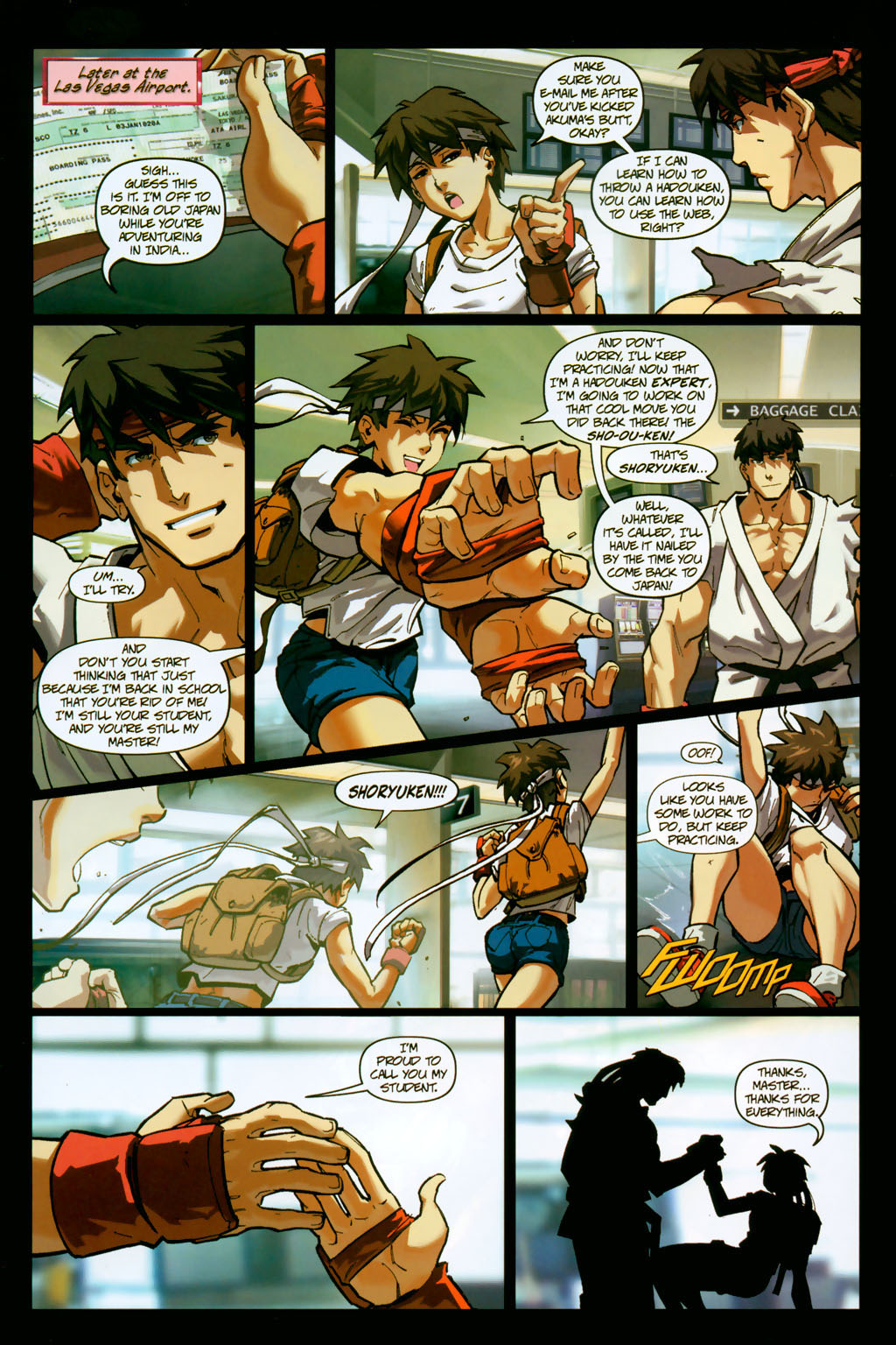 Street Fighter (2003) Issue #14 #15 - English 17