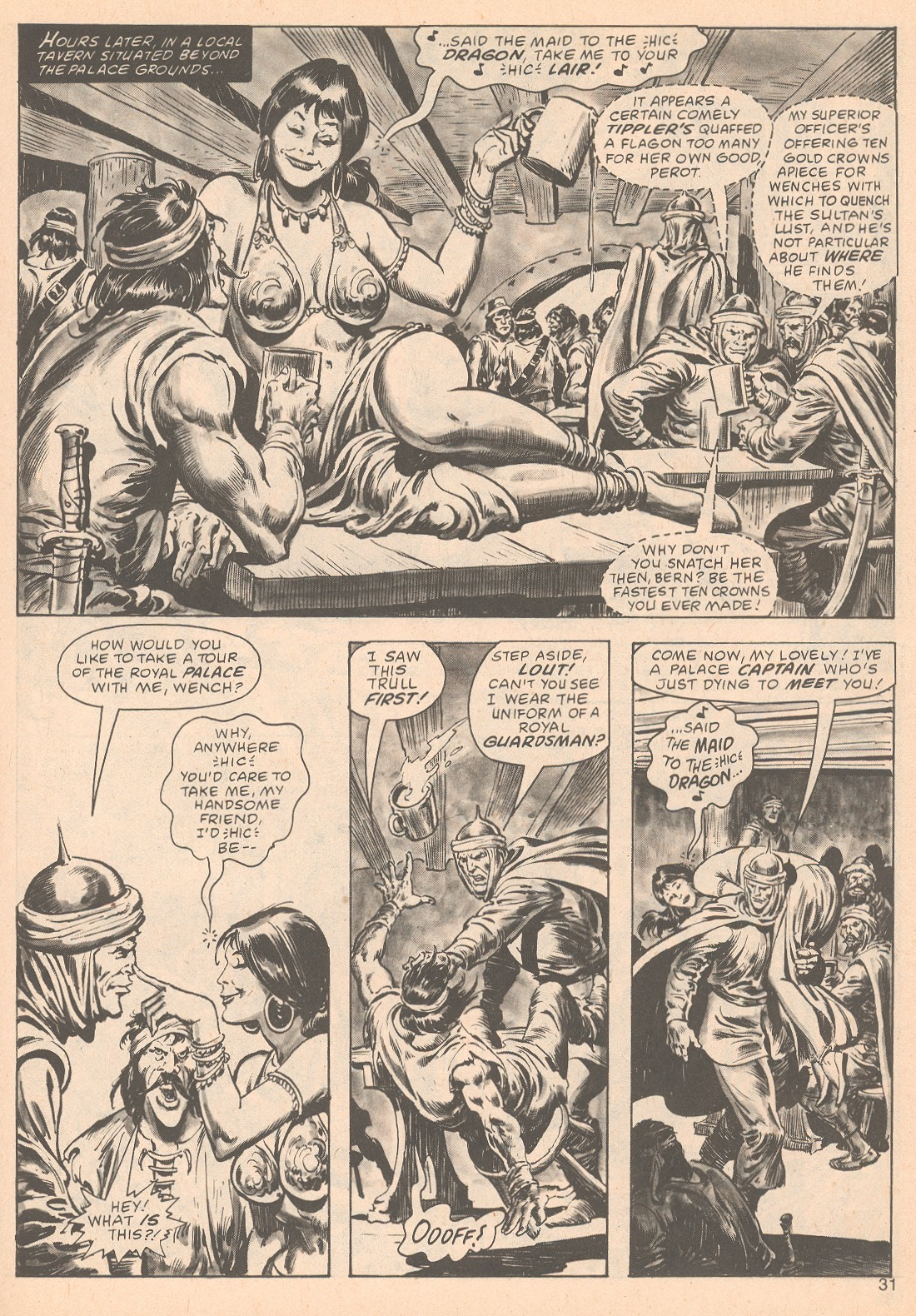 The Savage Sword Of Conan Issue #63 #64 - English 31