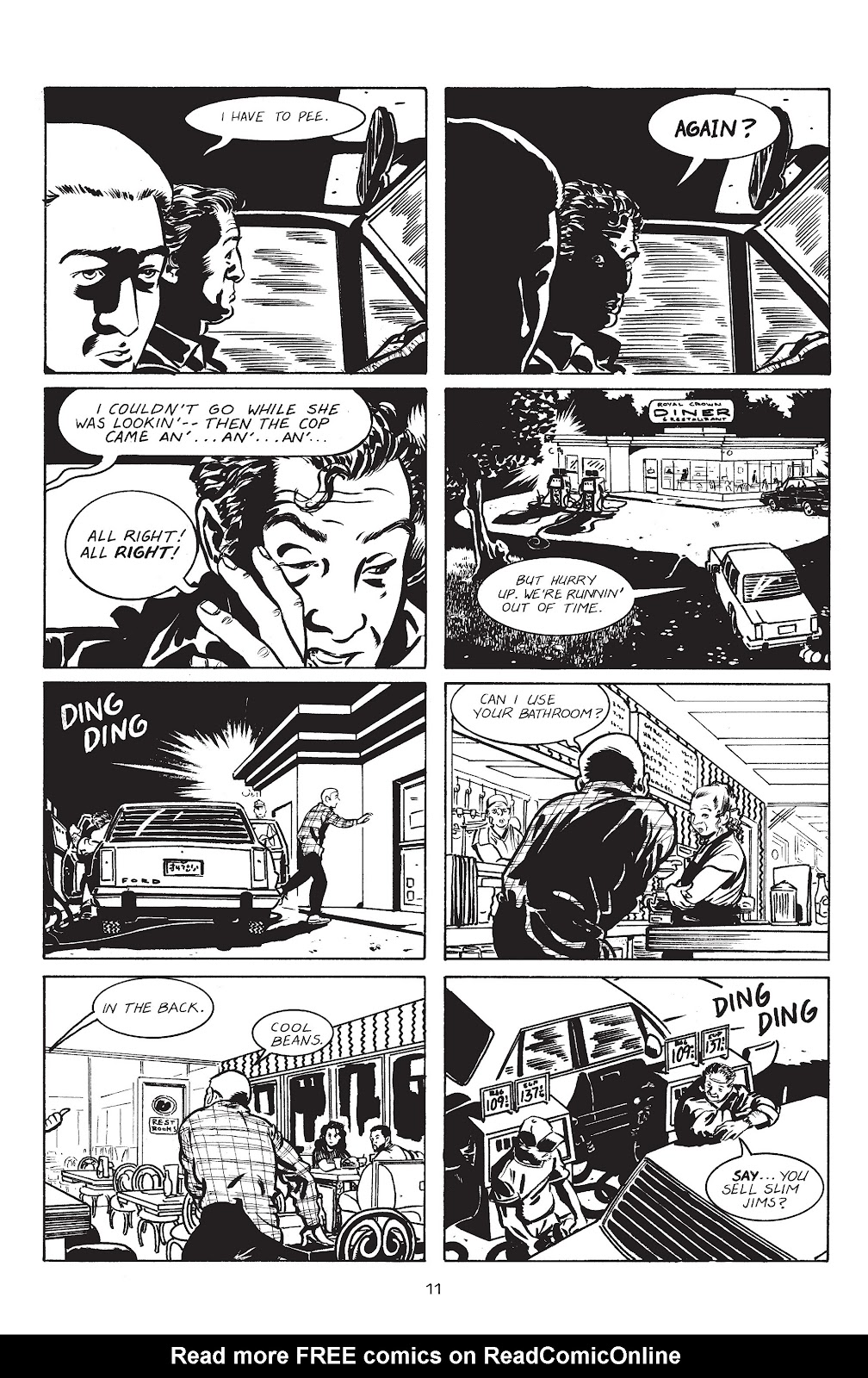 Stray Bullets Issue #1 #1 - English 14