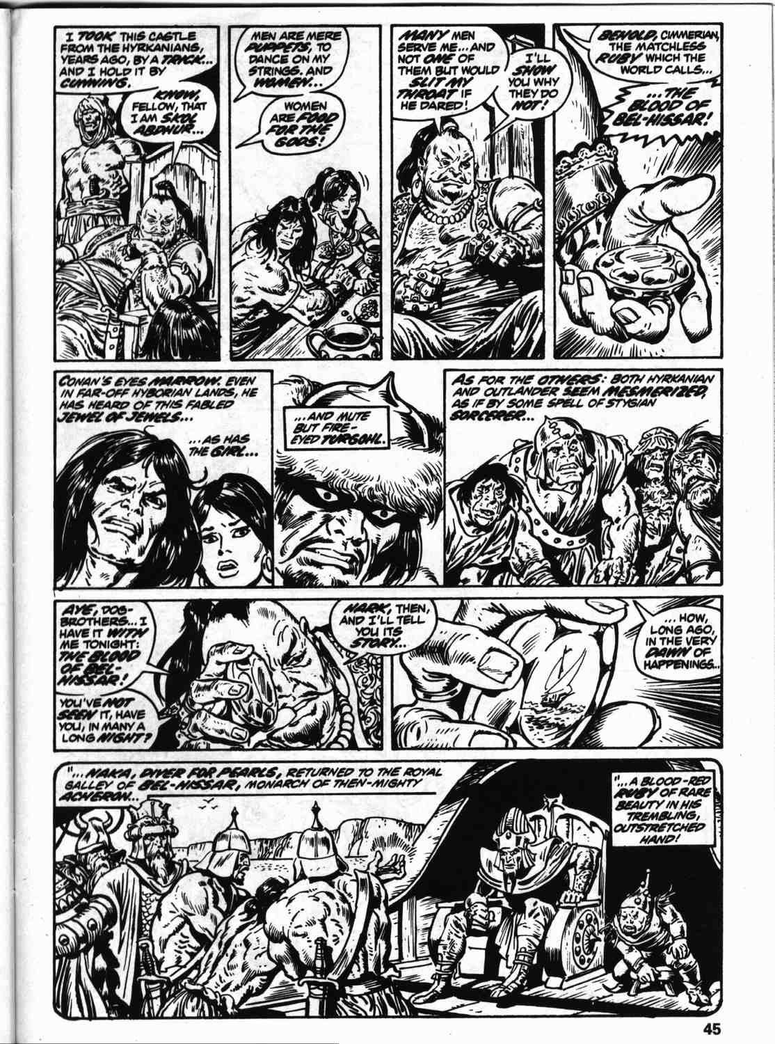 The Savage Sword Of Conan Issue #59 #60 - English 52