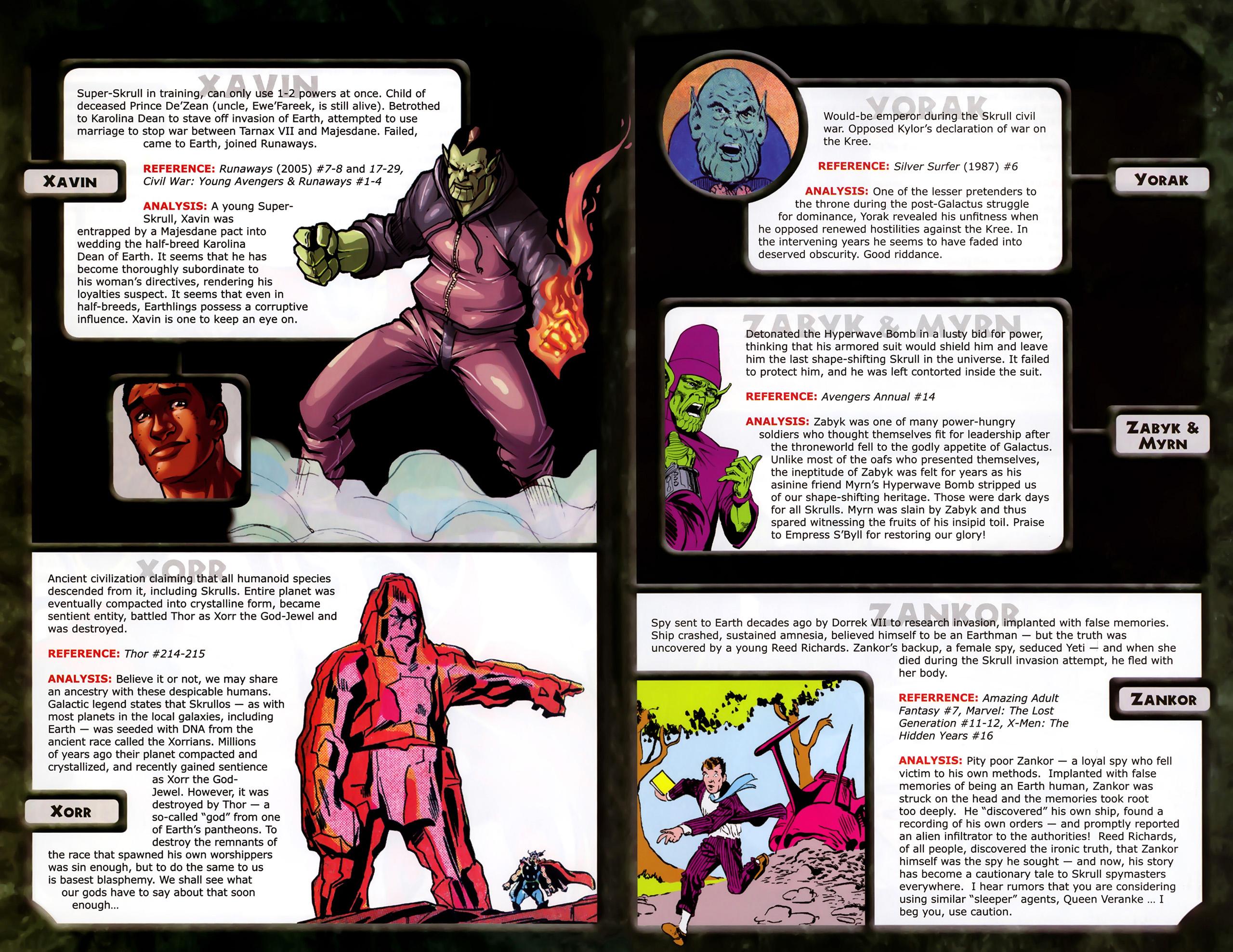 Read online Skrulls! comic -  Issue # Full - 58