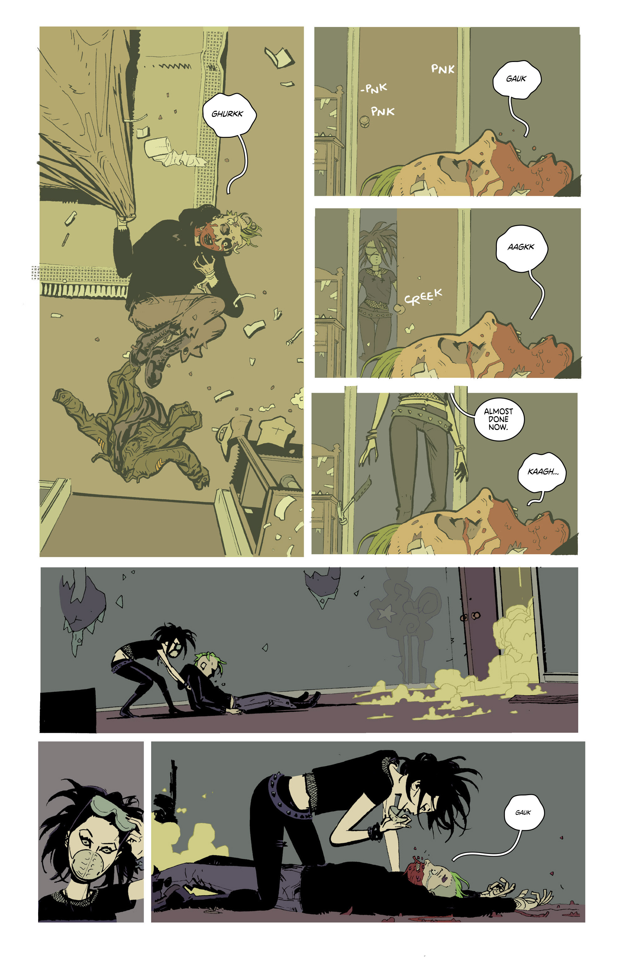 Read online Deadly Class comic -  Issue #21 - 20