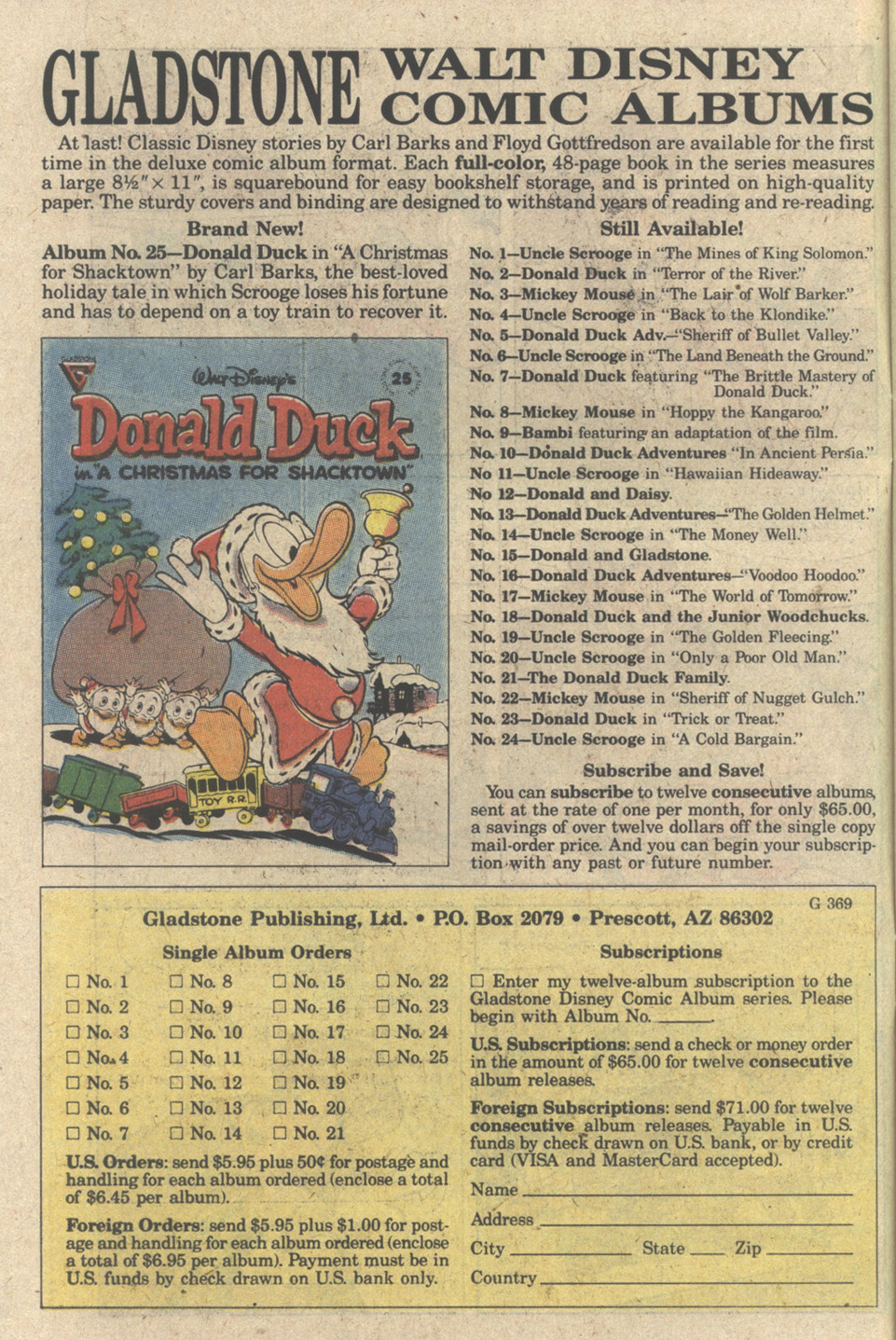 Uncle Scrooge (1953) Issue #242 #242 - English 10