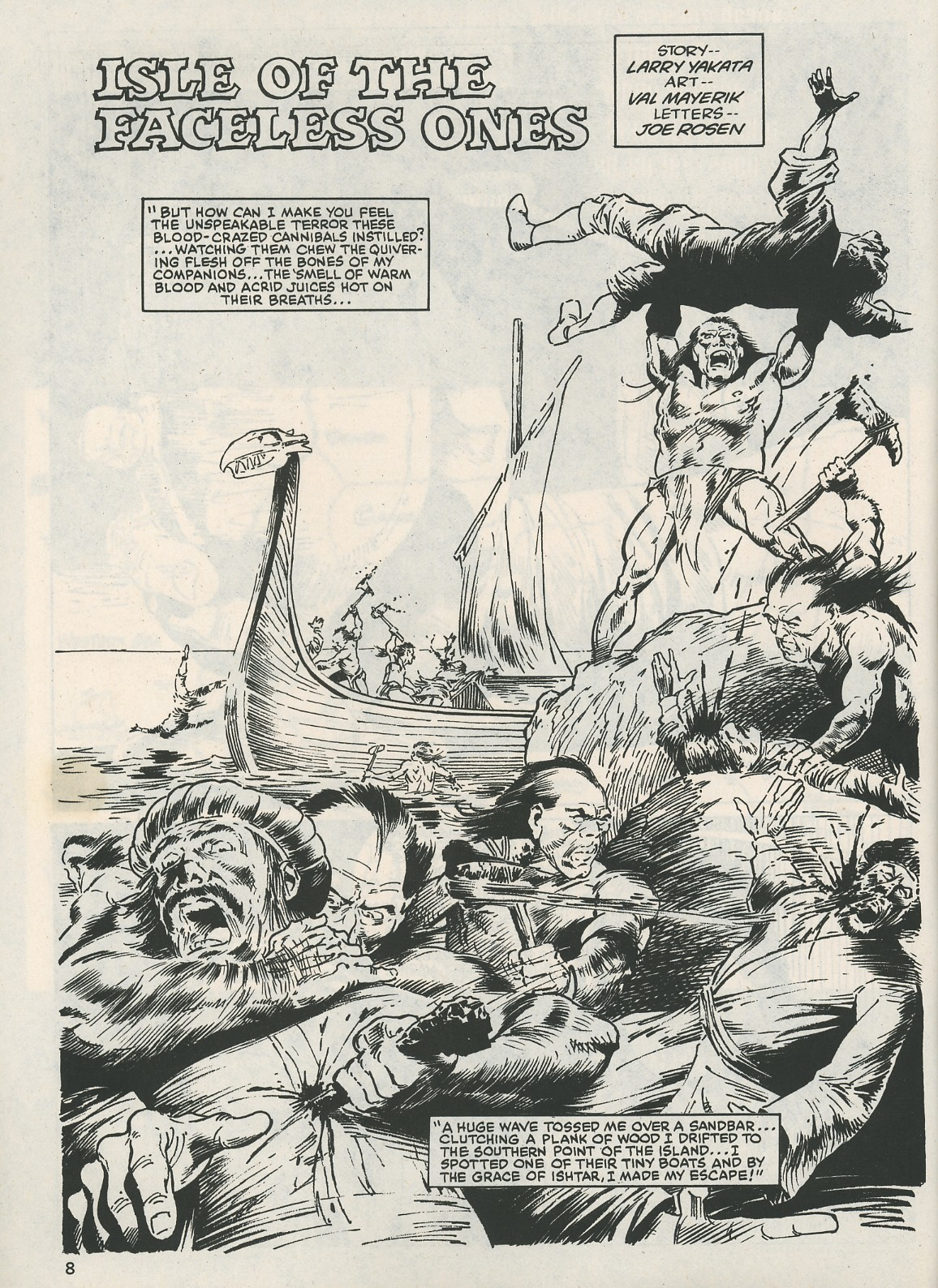 The Savage Sword Of Conan Issue #115 #116 - English 8
