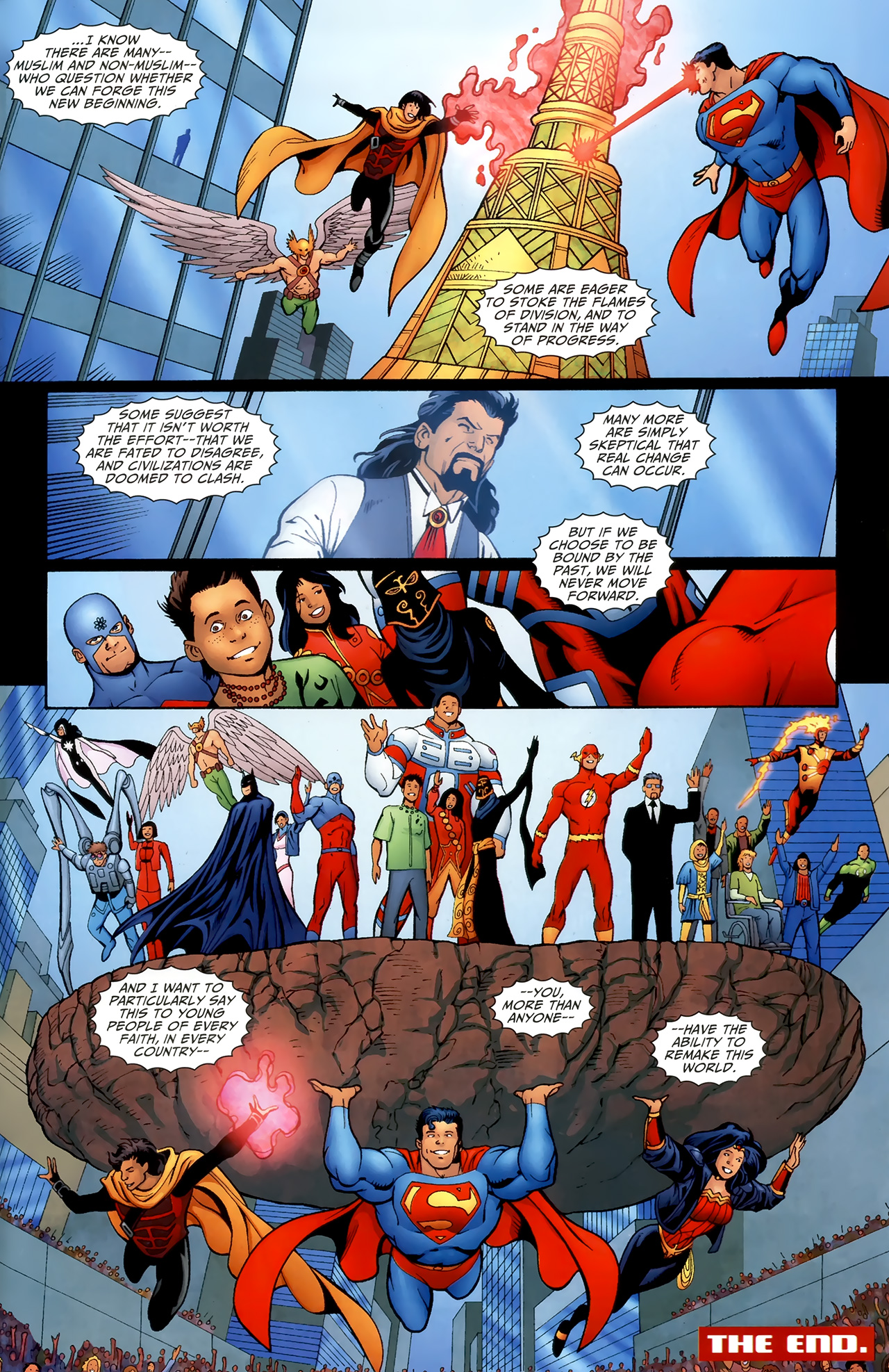 Read online Justice League of America/The 99 comic -  Issue #6 - 21