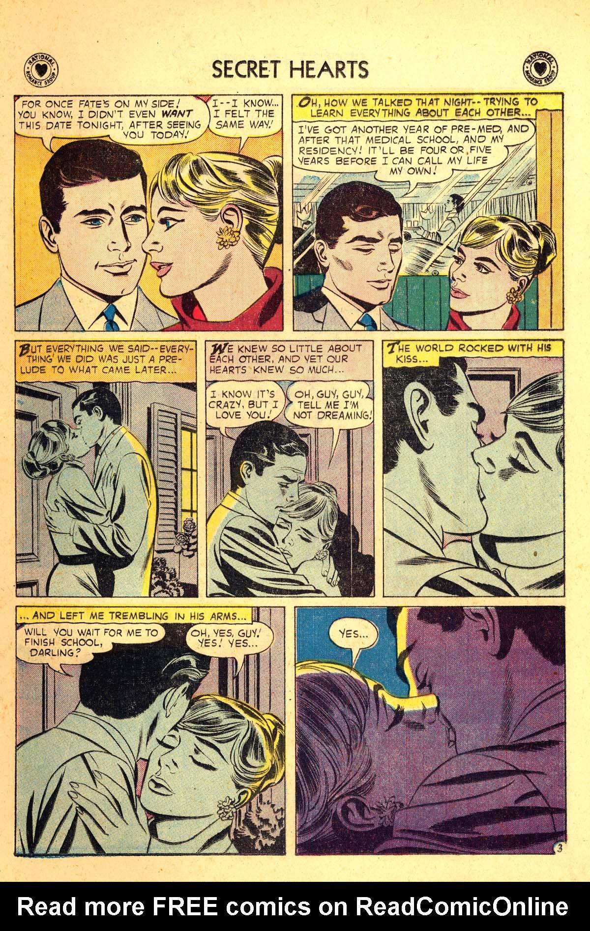 Read online Secret Hearts comic -  Issue #54 - 5