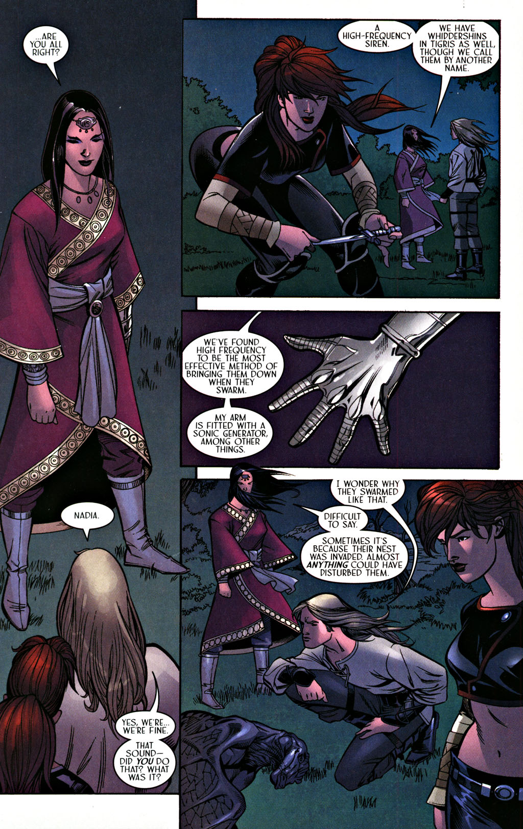 Read online Scion comic -  Issue #28 - 16