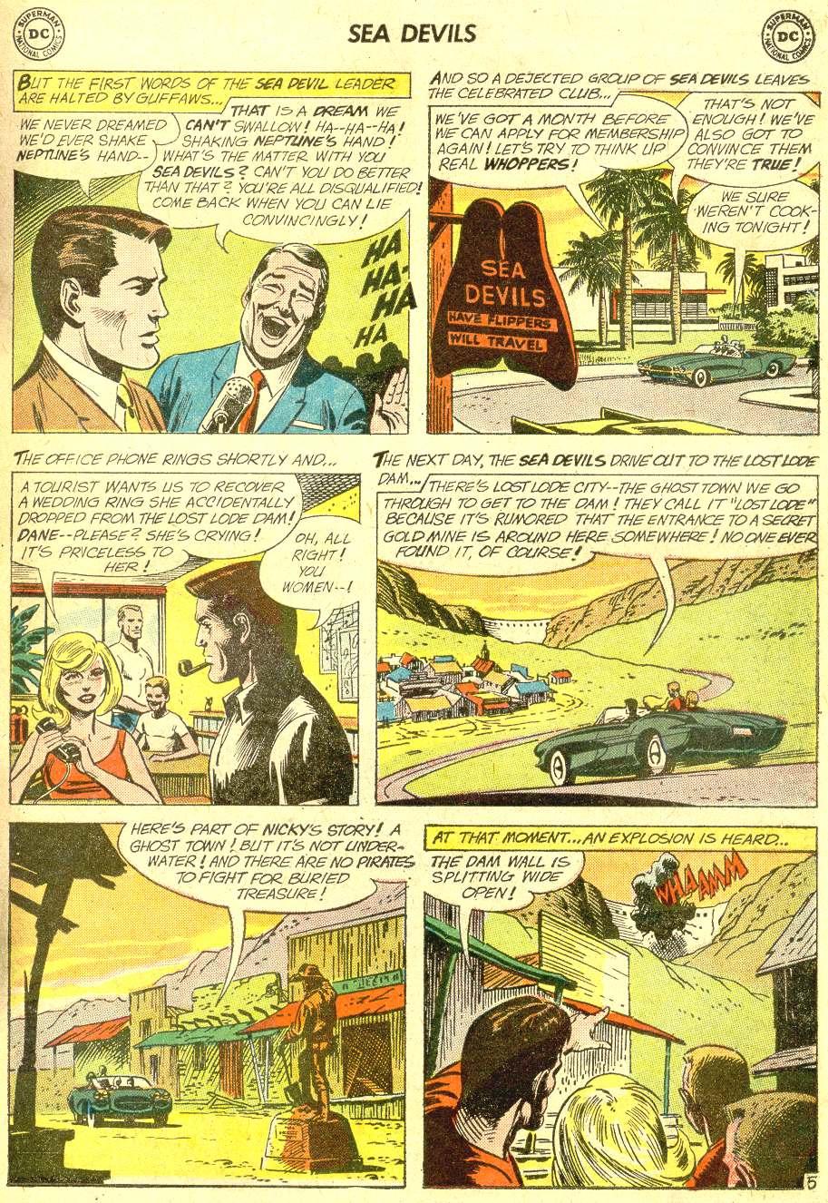 Read online Sea Devils comic -  Issue #10 - 8